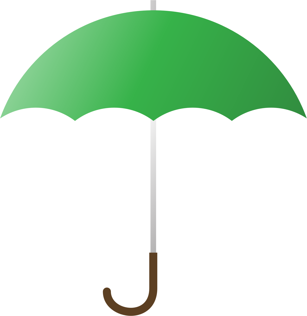 Green Umbrella by jgm104