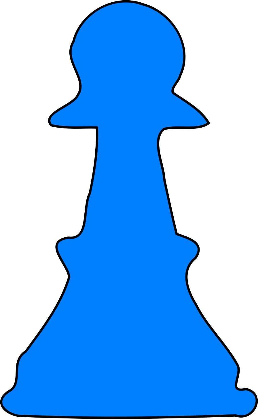 blue pawn by Spade