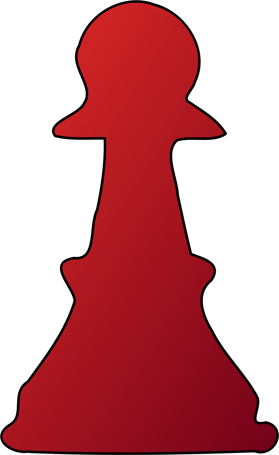red pawn by Spade