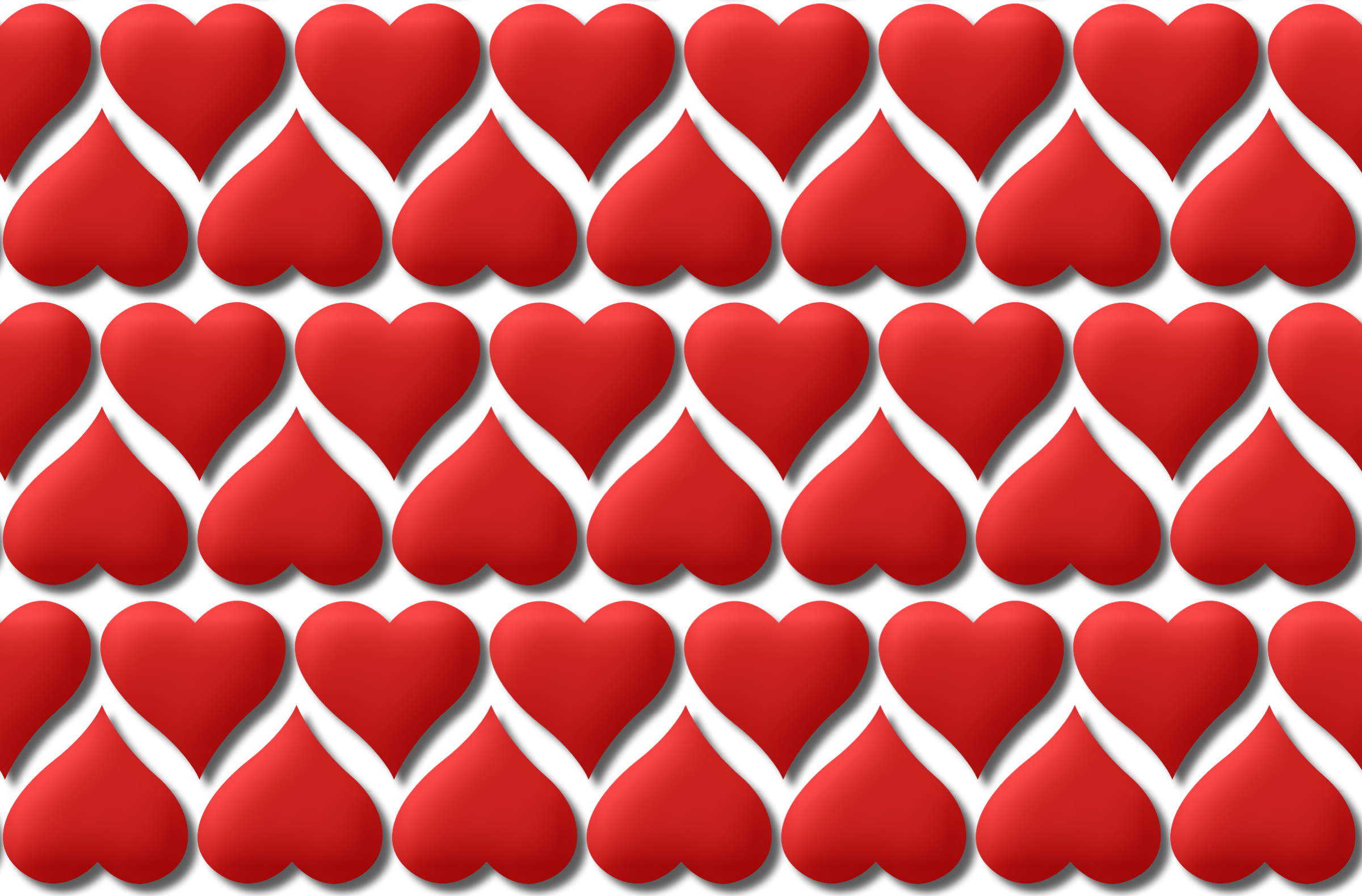 Heart pattern 4 (version 2) by Firkin
