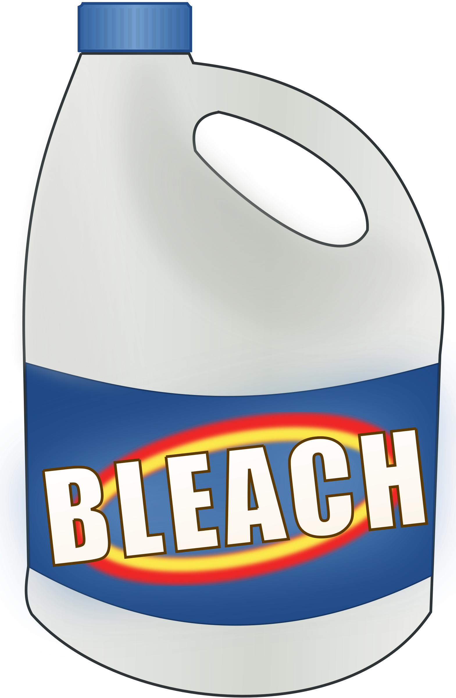 Bleach bottle by cwt