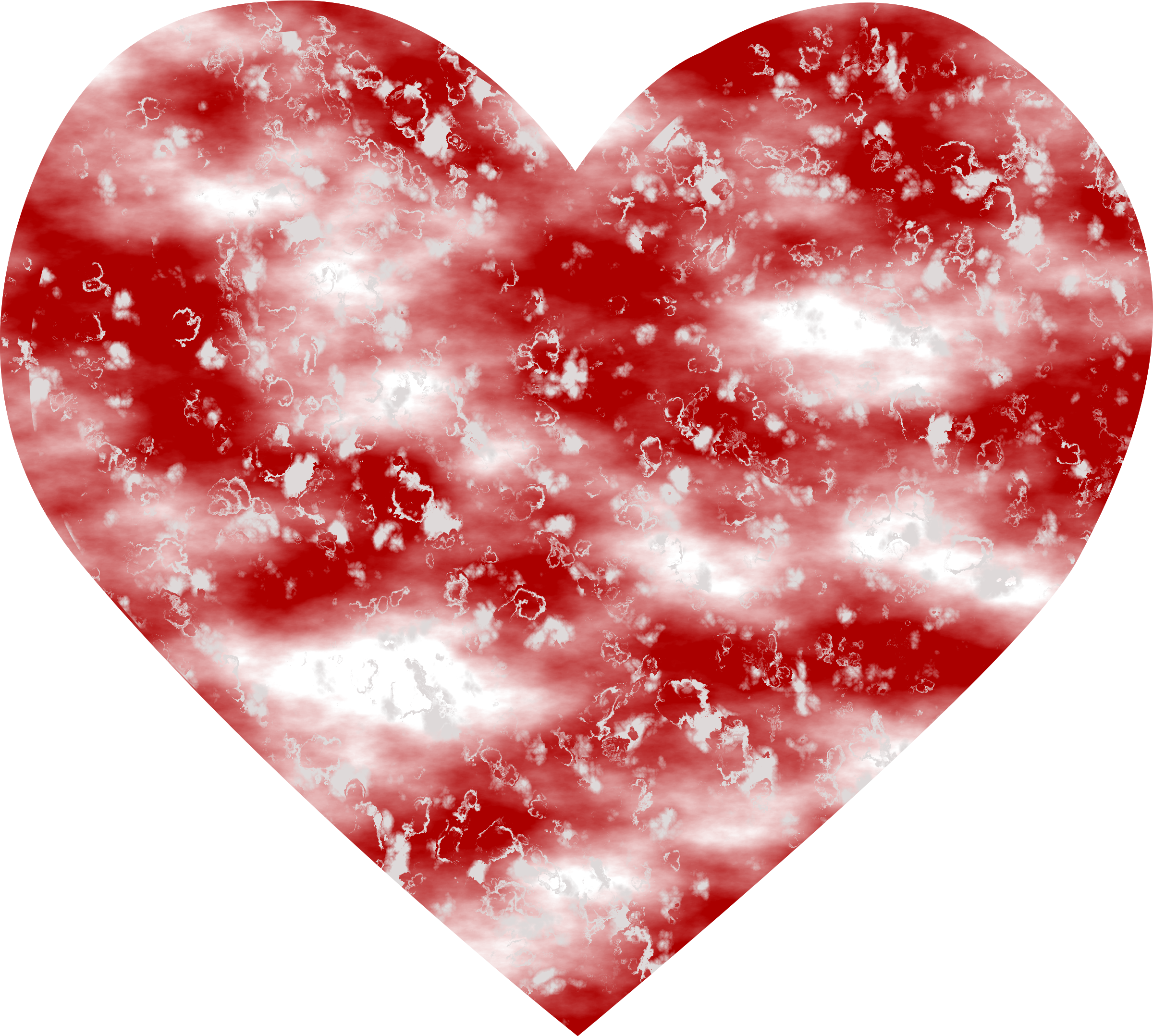 Textured heart 3 by Firkin