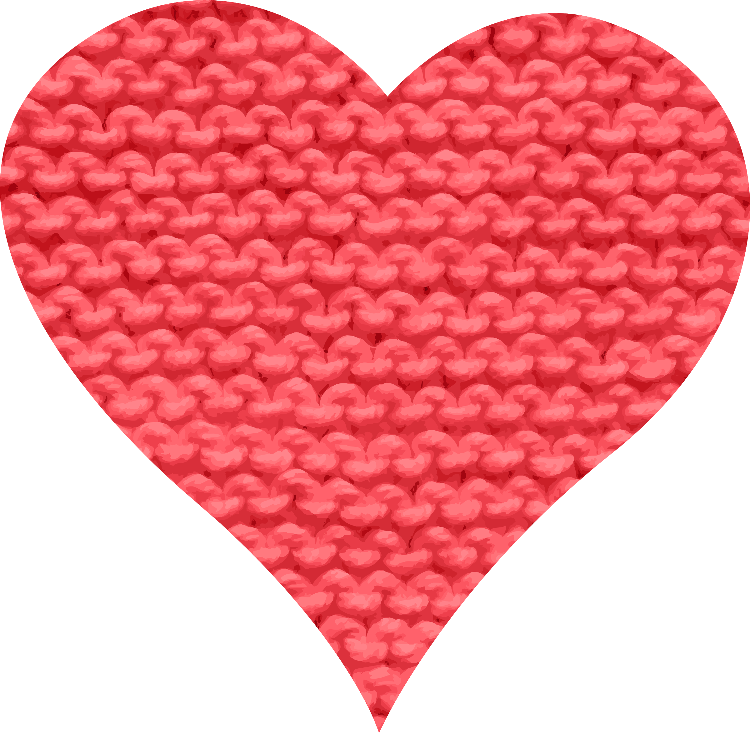 Wool heart by Firkin