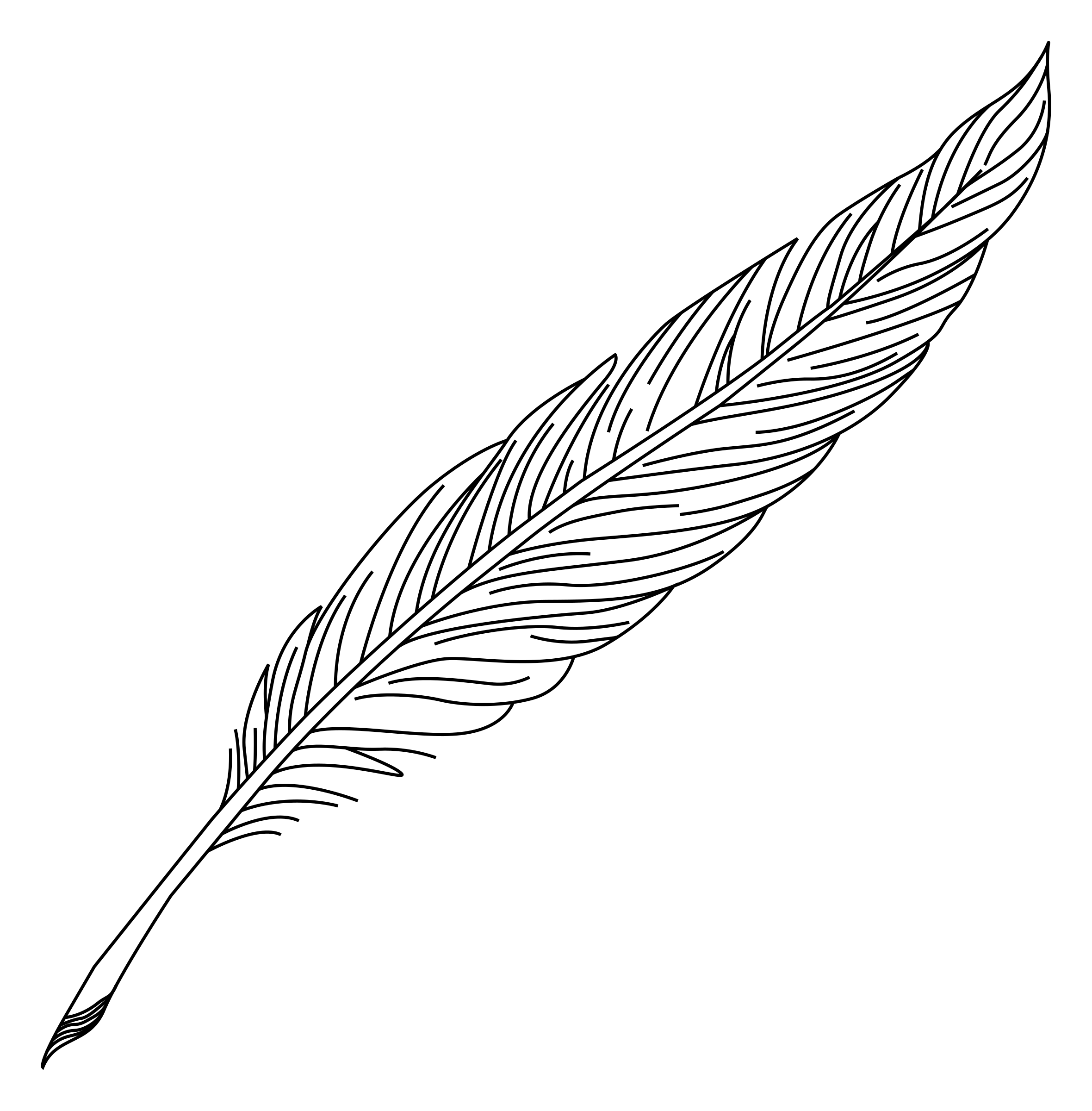 Clipart Schreibfeder