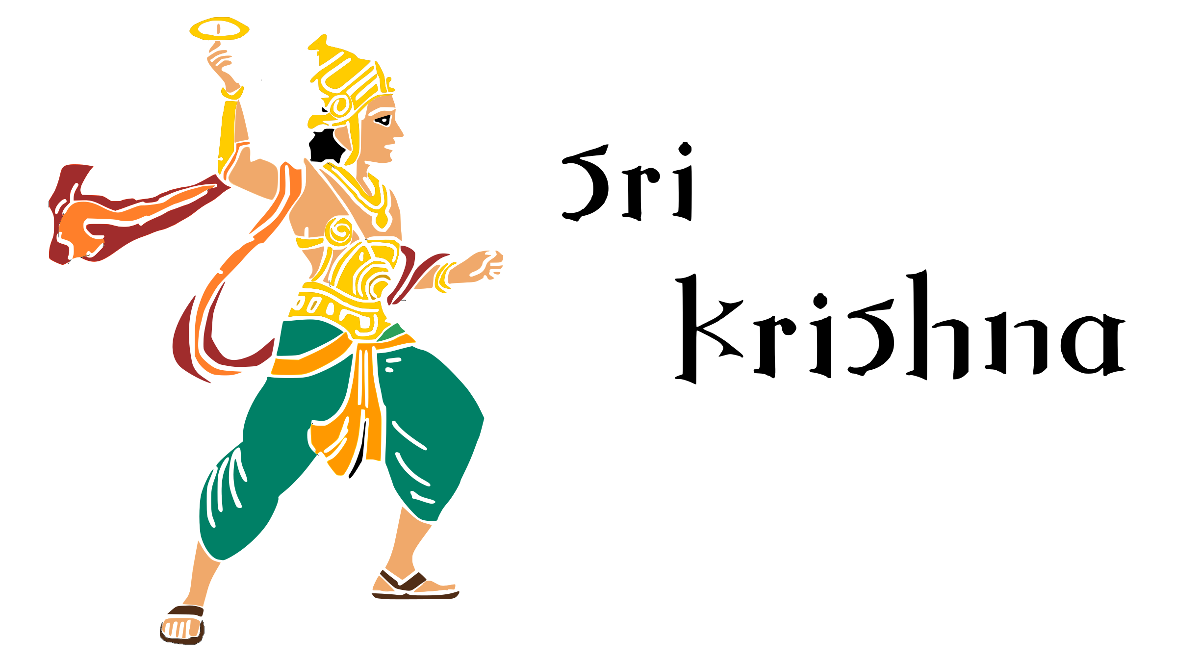 Lord Krishna by Bharateey