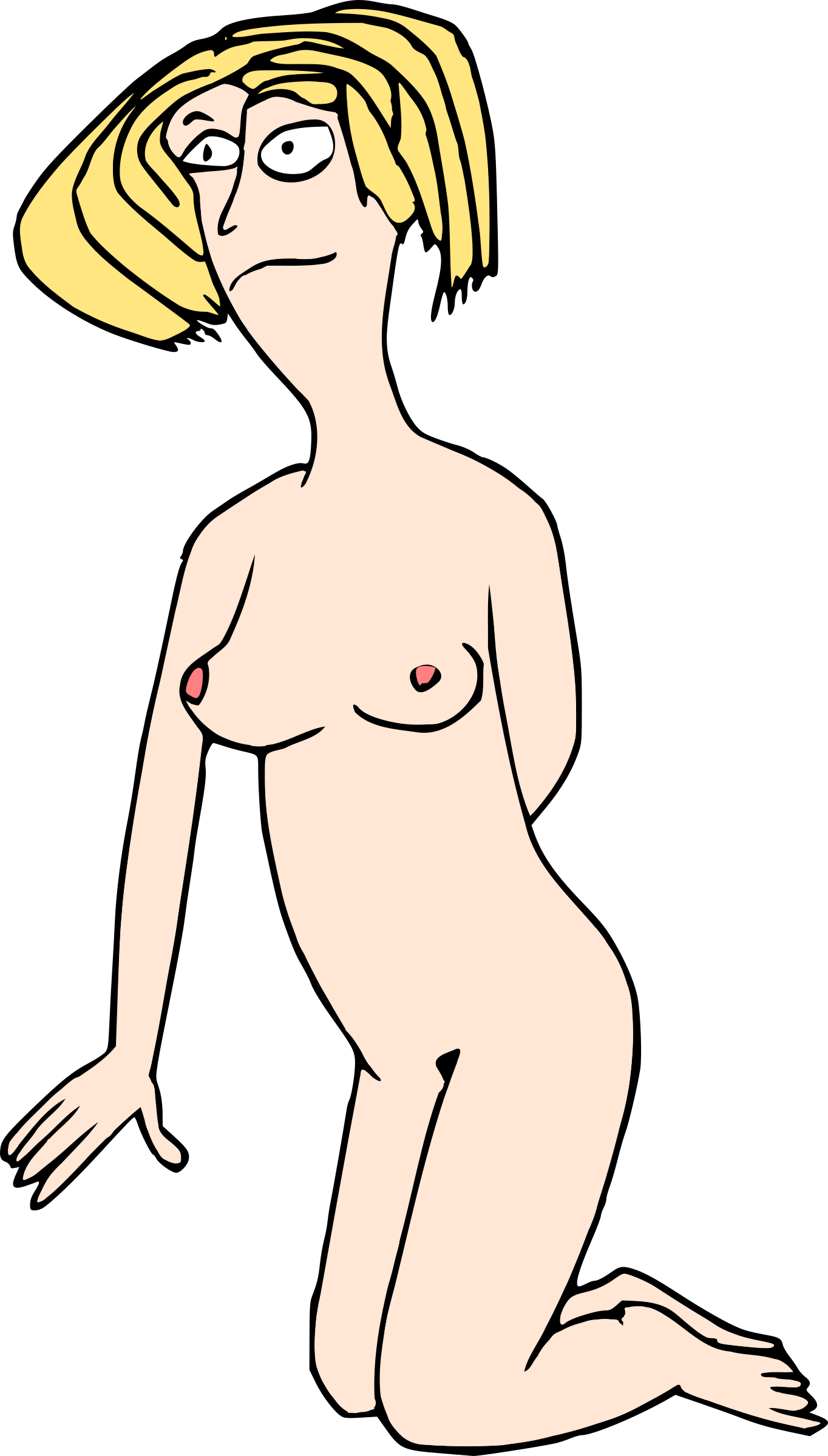 Woman Nude 3 by doodleguy