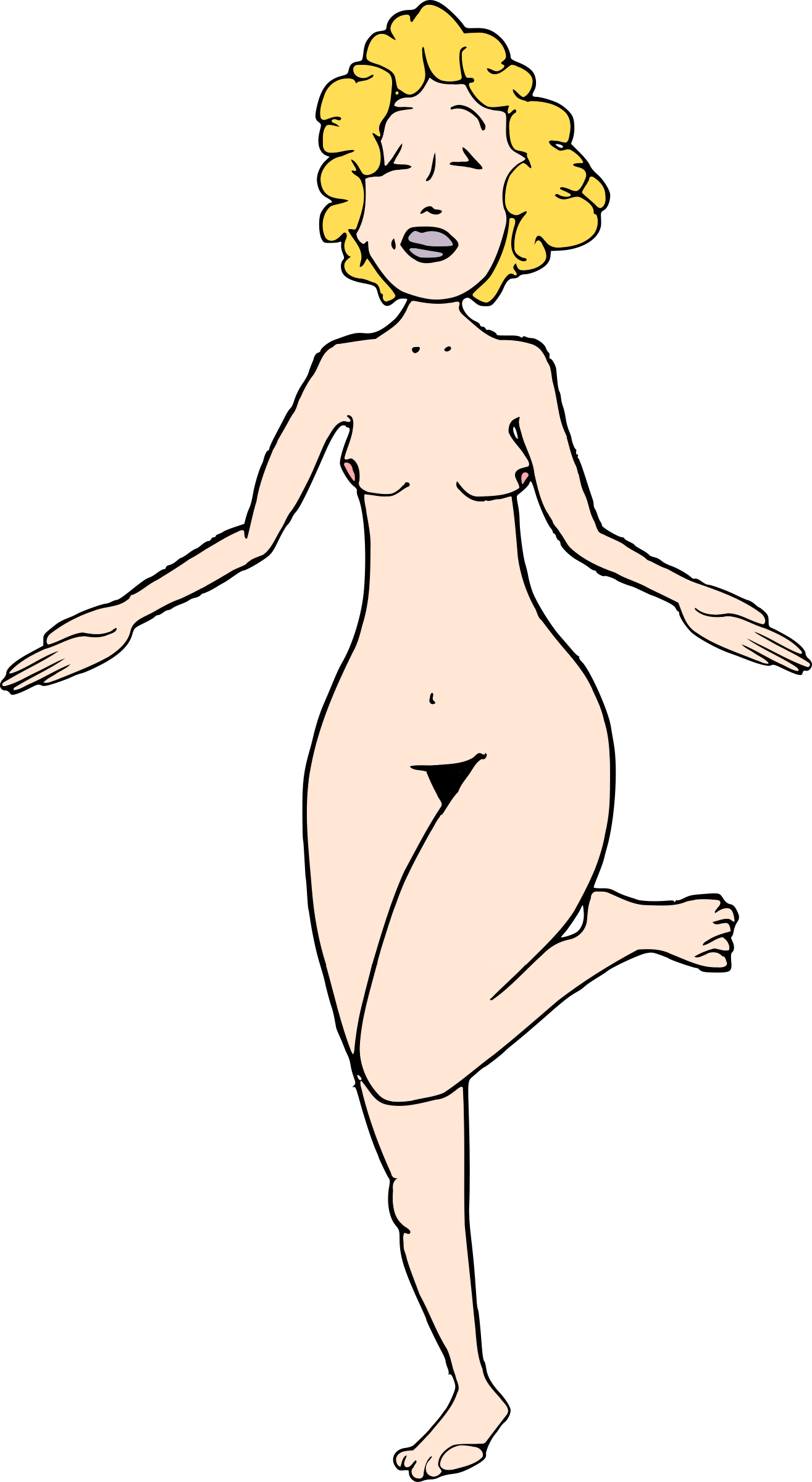 Woman Nude 5 by doodleguy