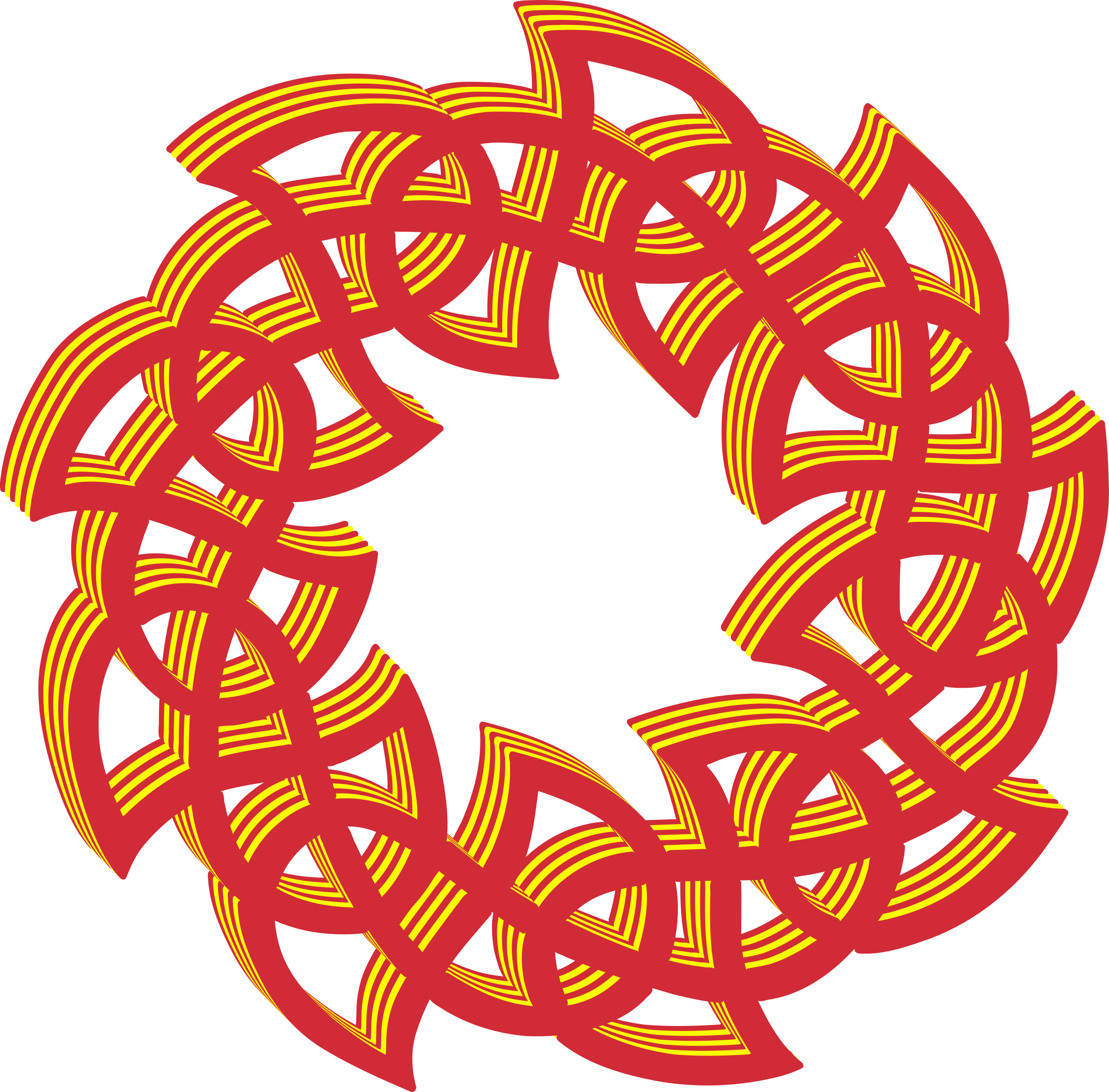 Celtic knot 2 (colour 2) by Firkin