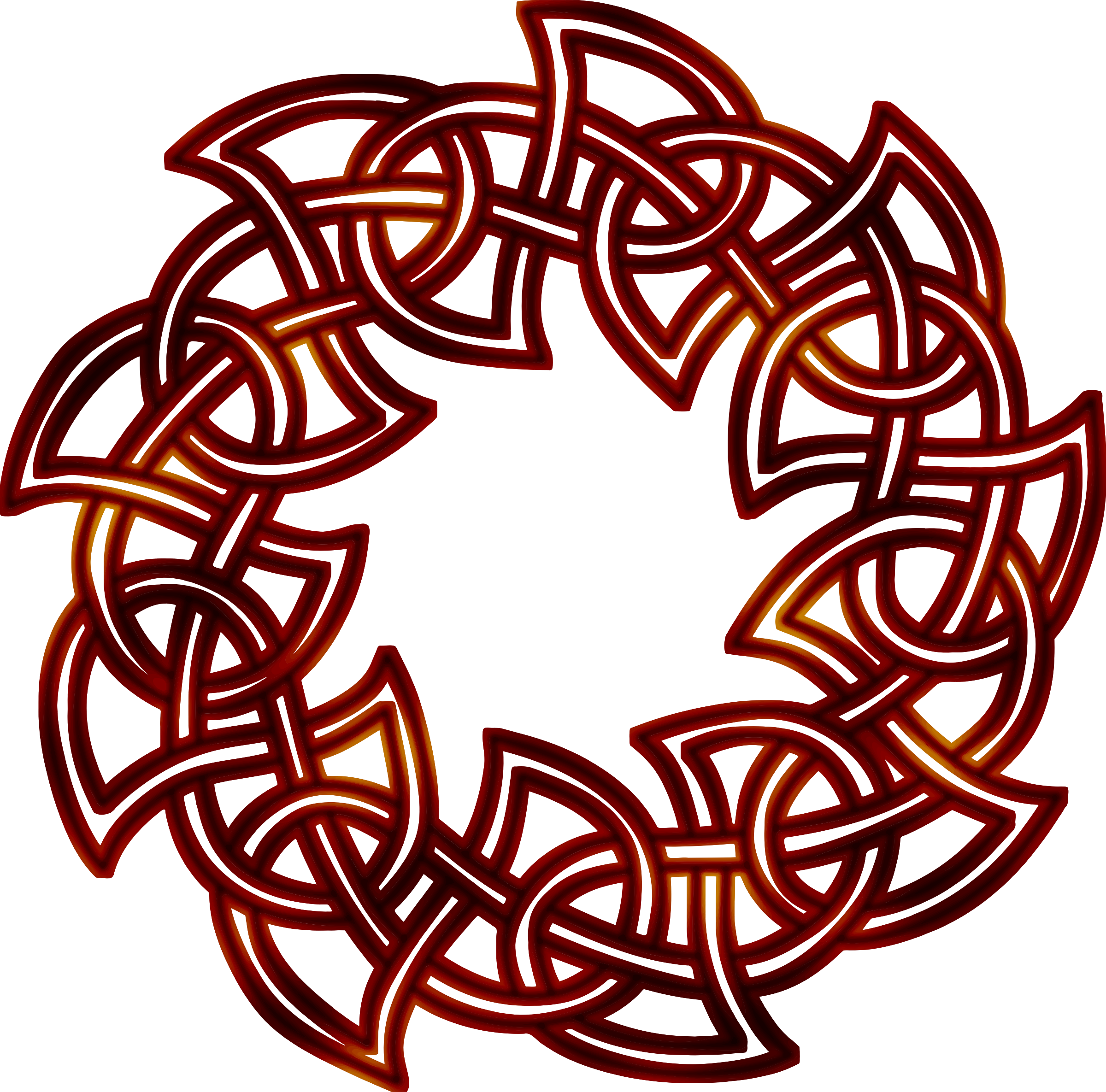 Celtic knot 2 (colour 3) by Firkin