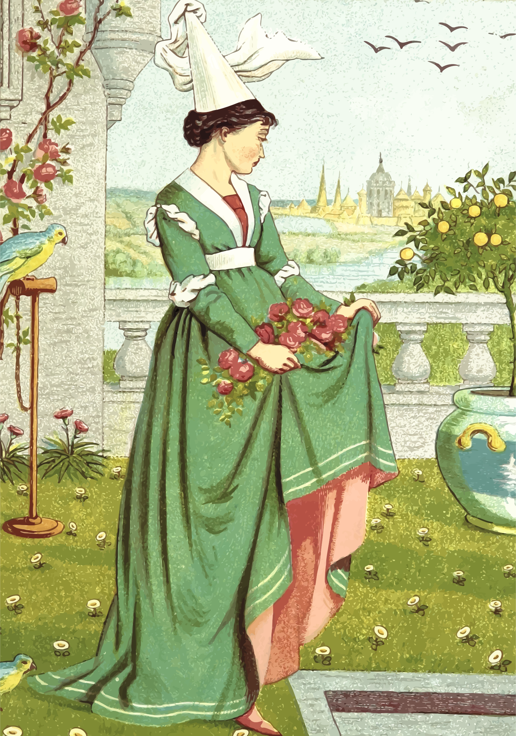Picking flowers 3 by Firkin