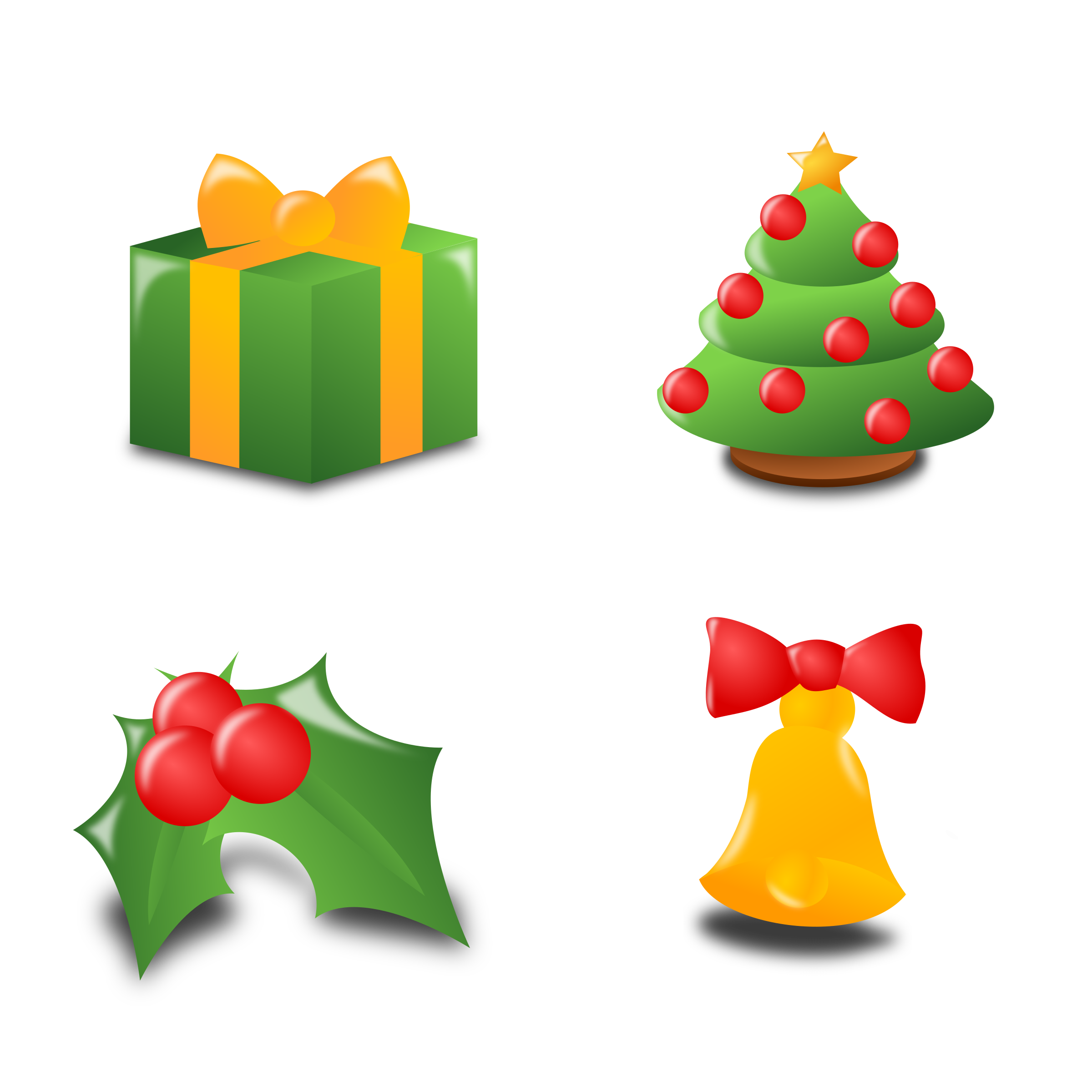 Christmas Icon Set Collection by mvolz