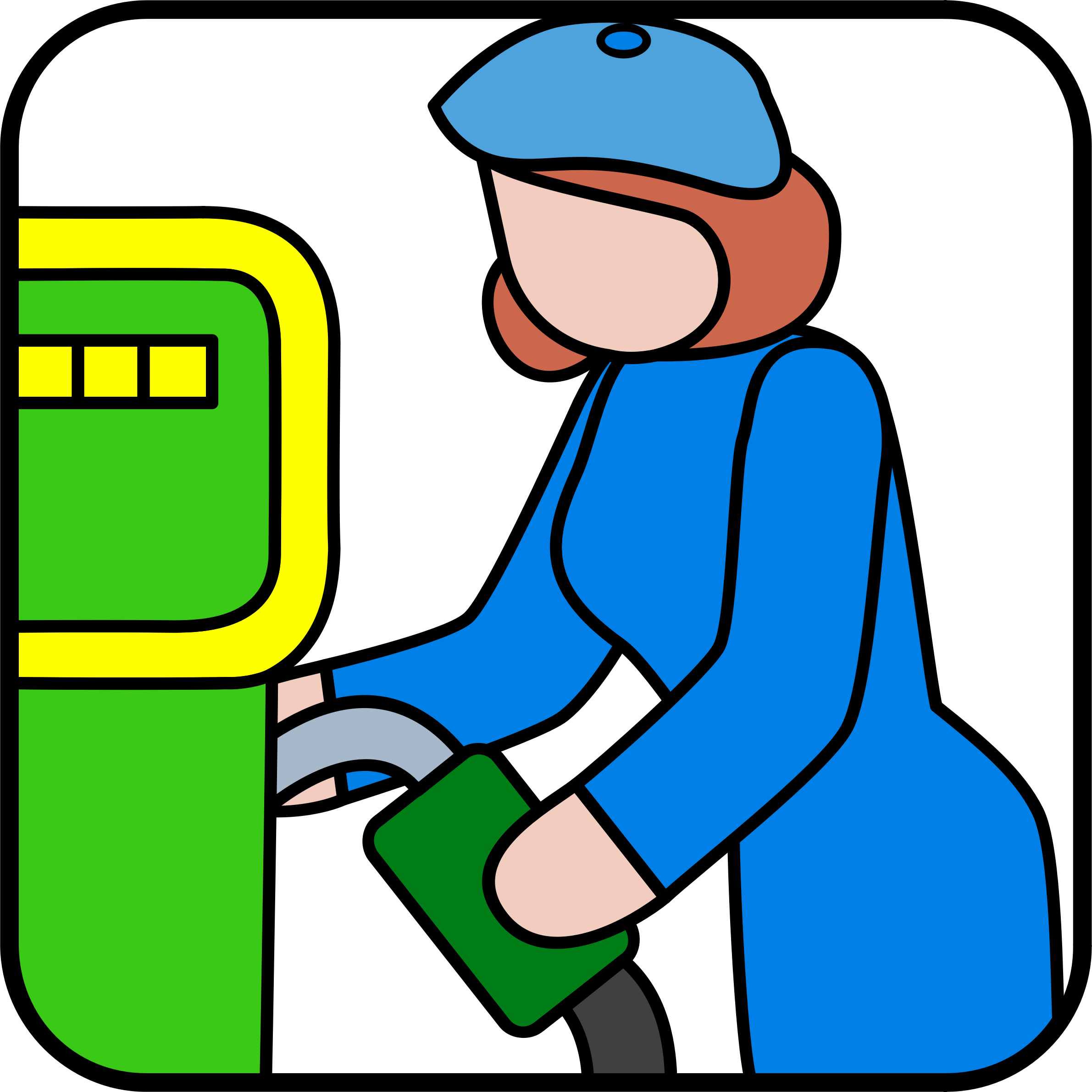 pumping gas by cactus cowboy