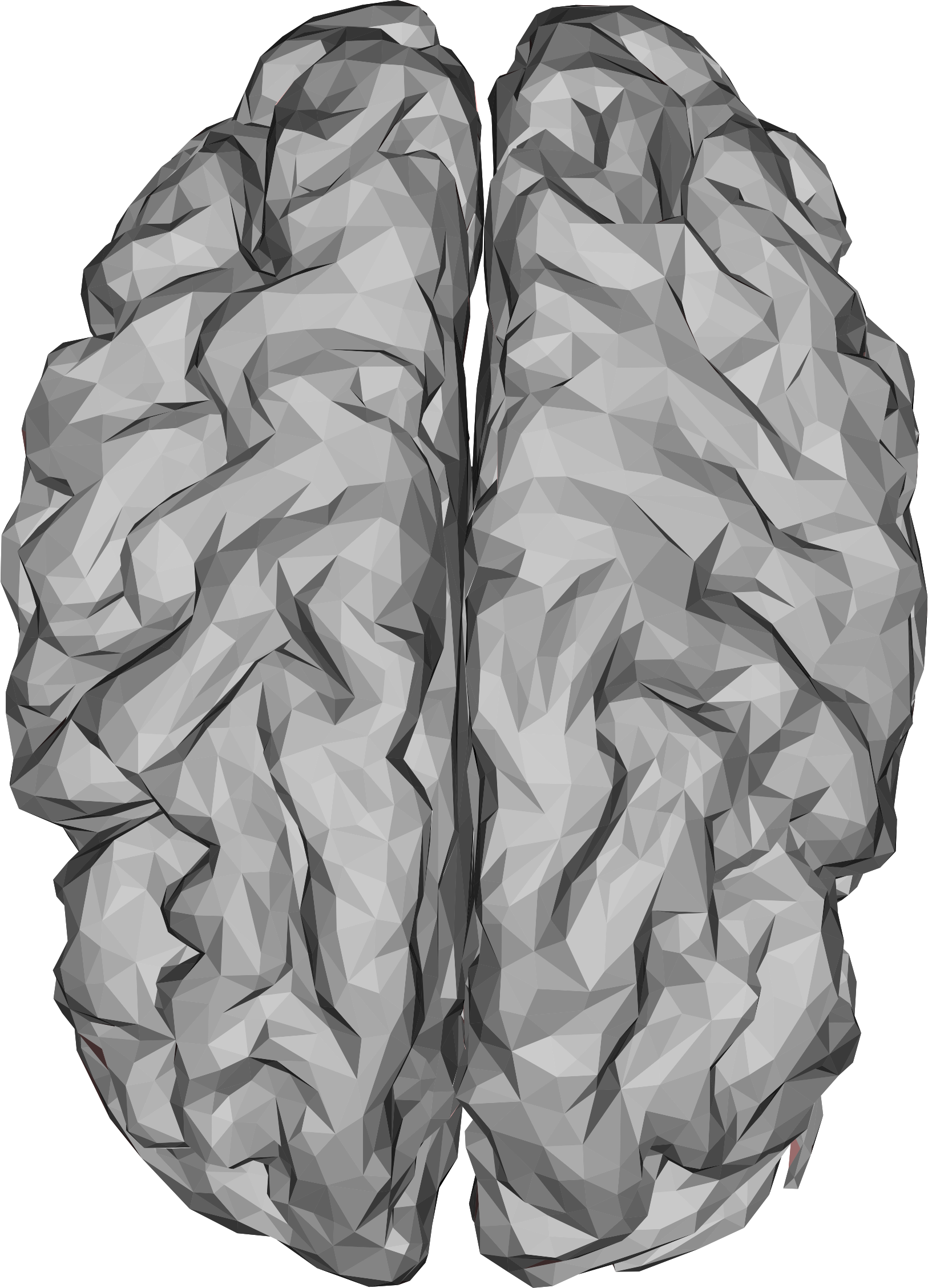 Low Poly 3D Brain by GDJ