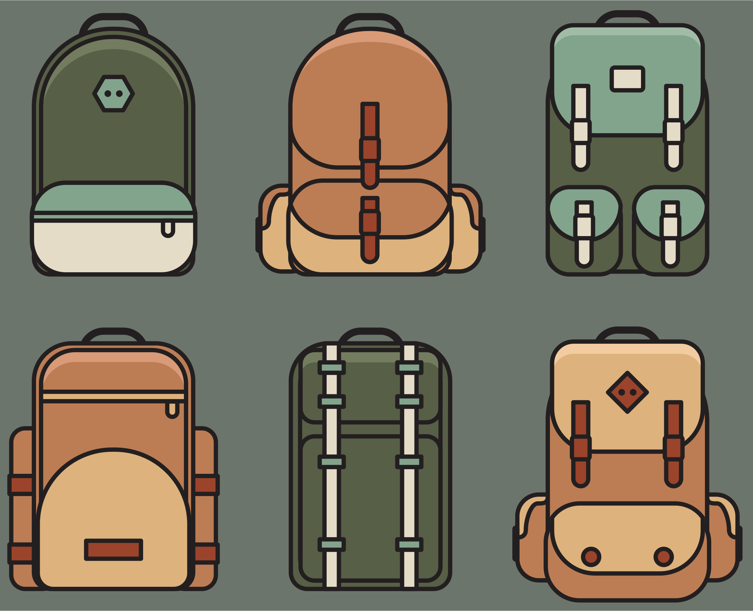 backpacks by cactus cowboy