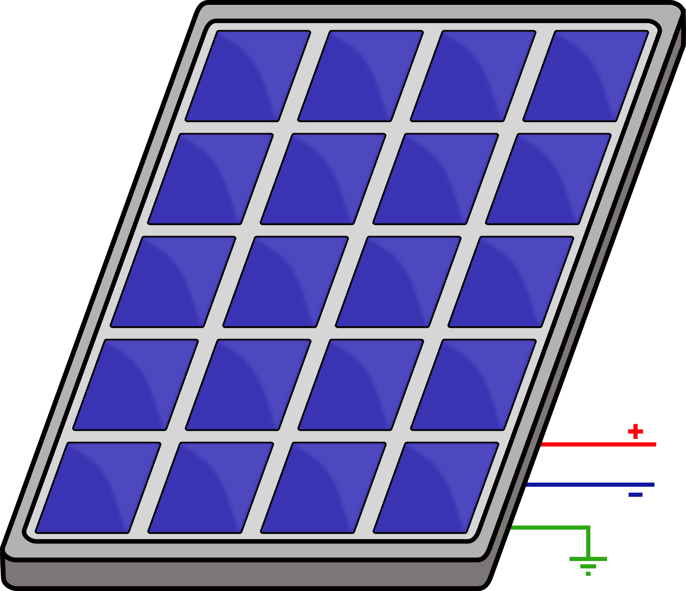 Simple PV panel by flomoto