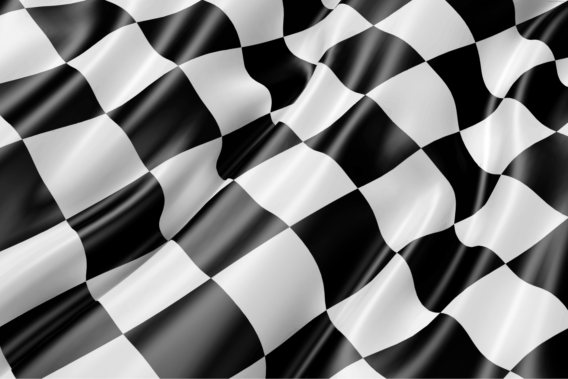 Chequered flag by Firkin