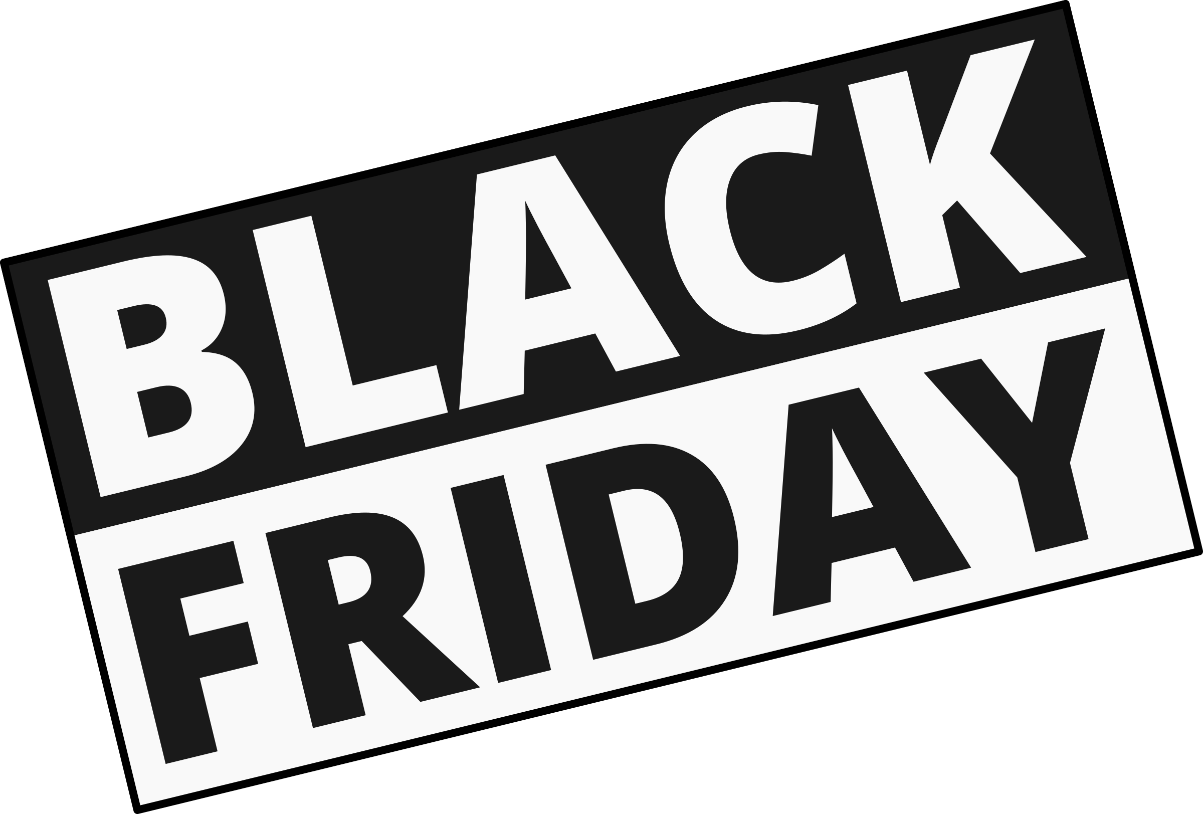 Black Friday Sign by Maiconfz