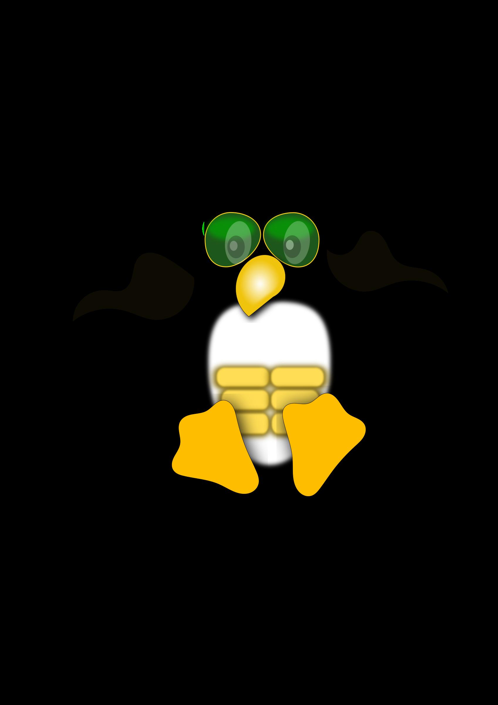 clipart linux logo penguin
