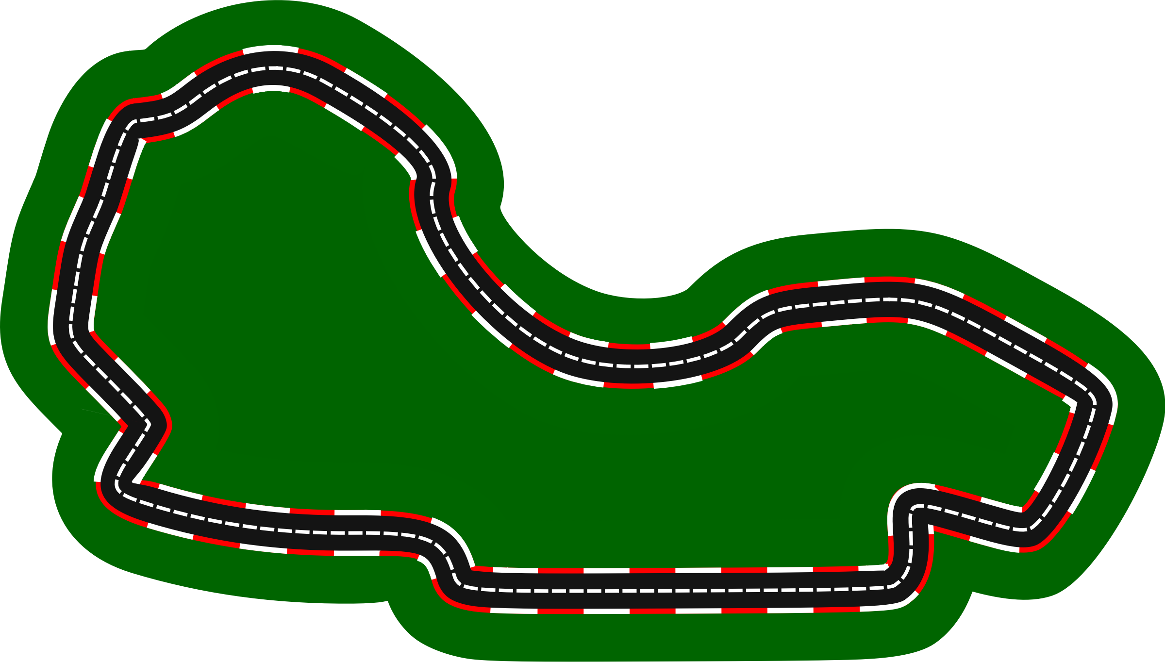 F1 circuits 2014-2018 - Melbourne Grand Prix Circuit (version 2) by Firkin
