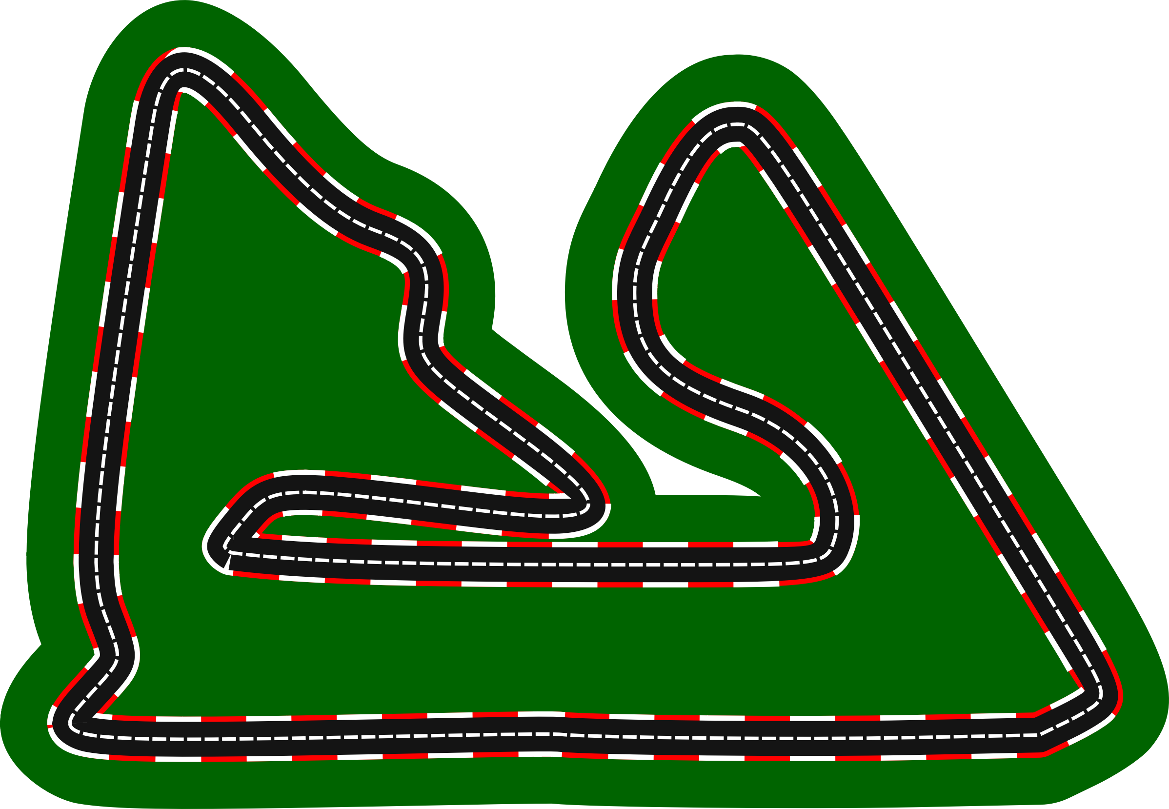 Remix of F1 circuits 2014-2018 - Bahrain International Circuit (version 2) by Firkin