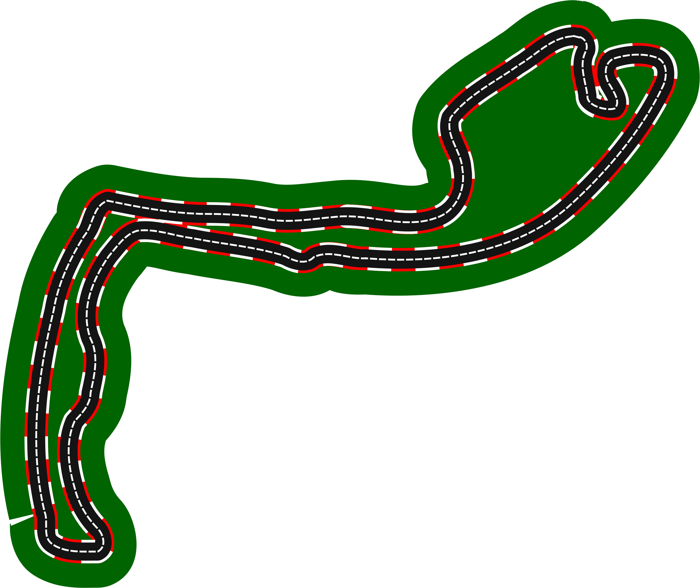 F1 circuits 2014-2018 - Circuit de Monaco (version 2) by Firkin