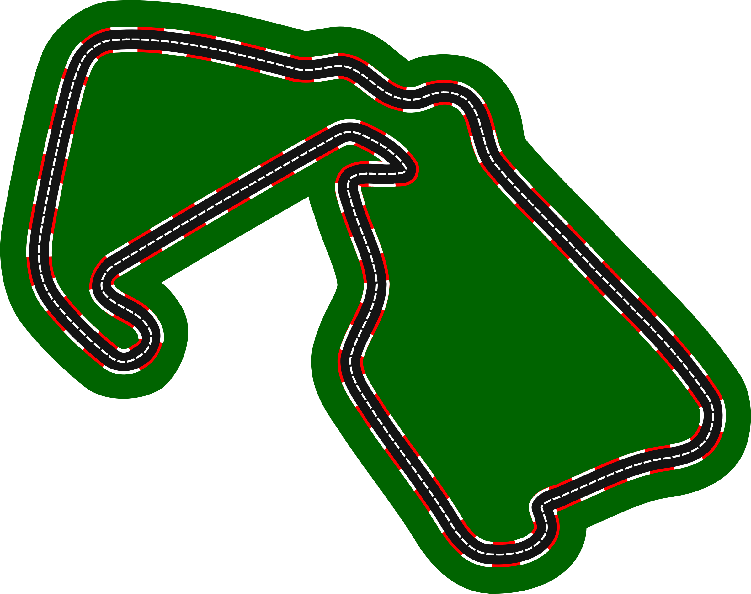 F1 circuits 2014-2018 - Silverstone (version 2) by Firkin