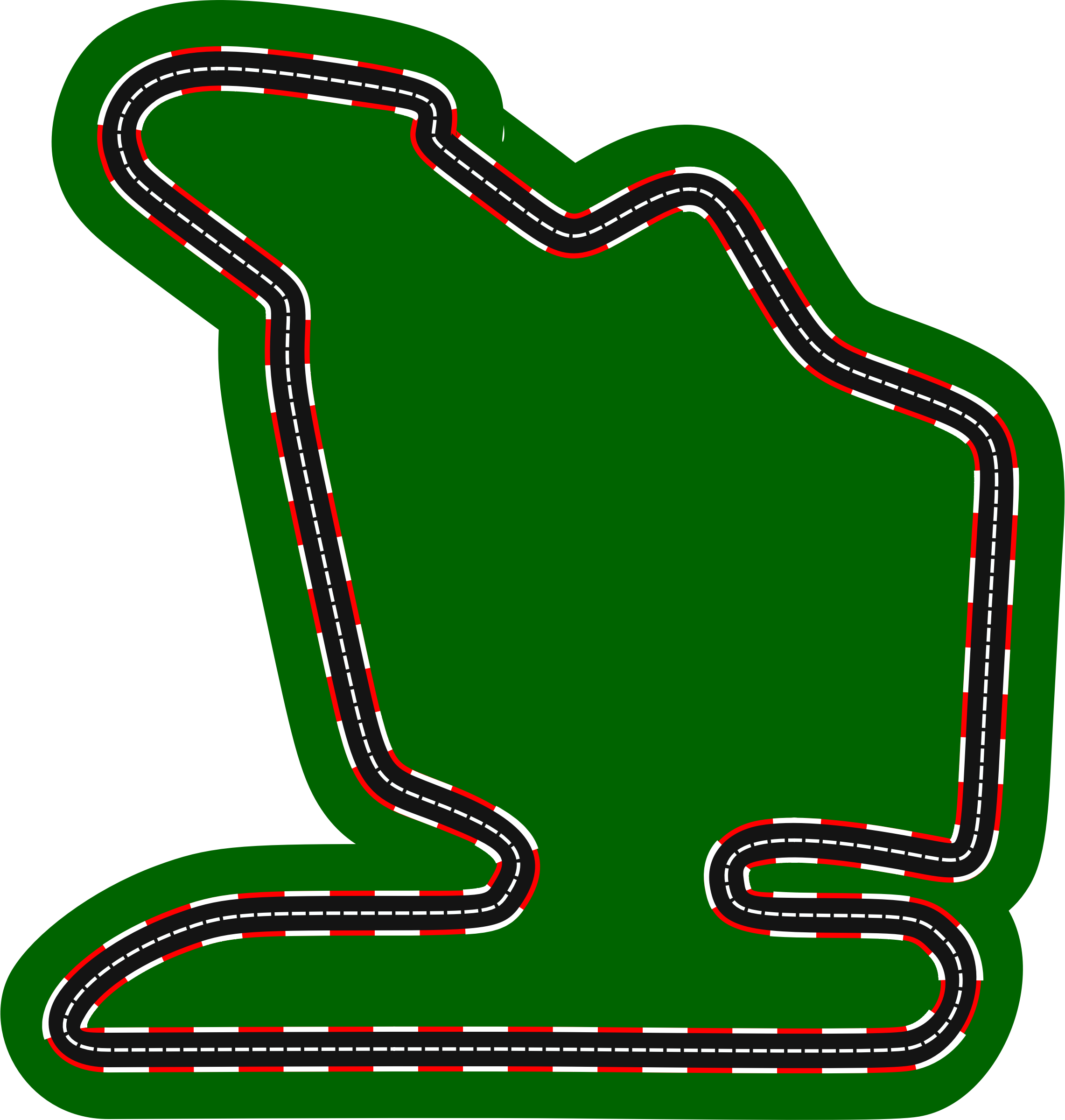 F1 circuits 2014-2018 - Hungaroring (version 2) by Firkin