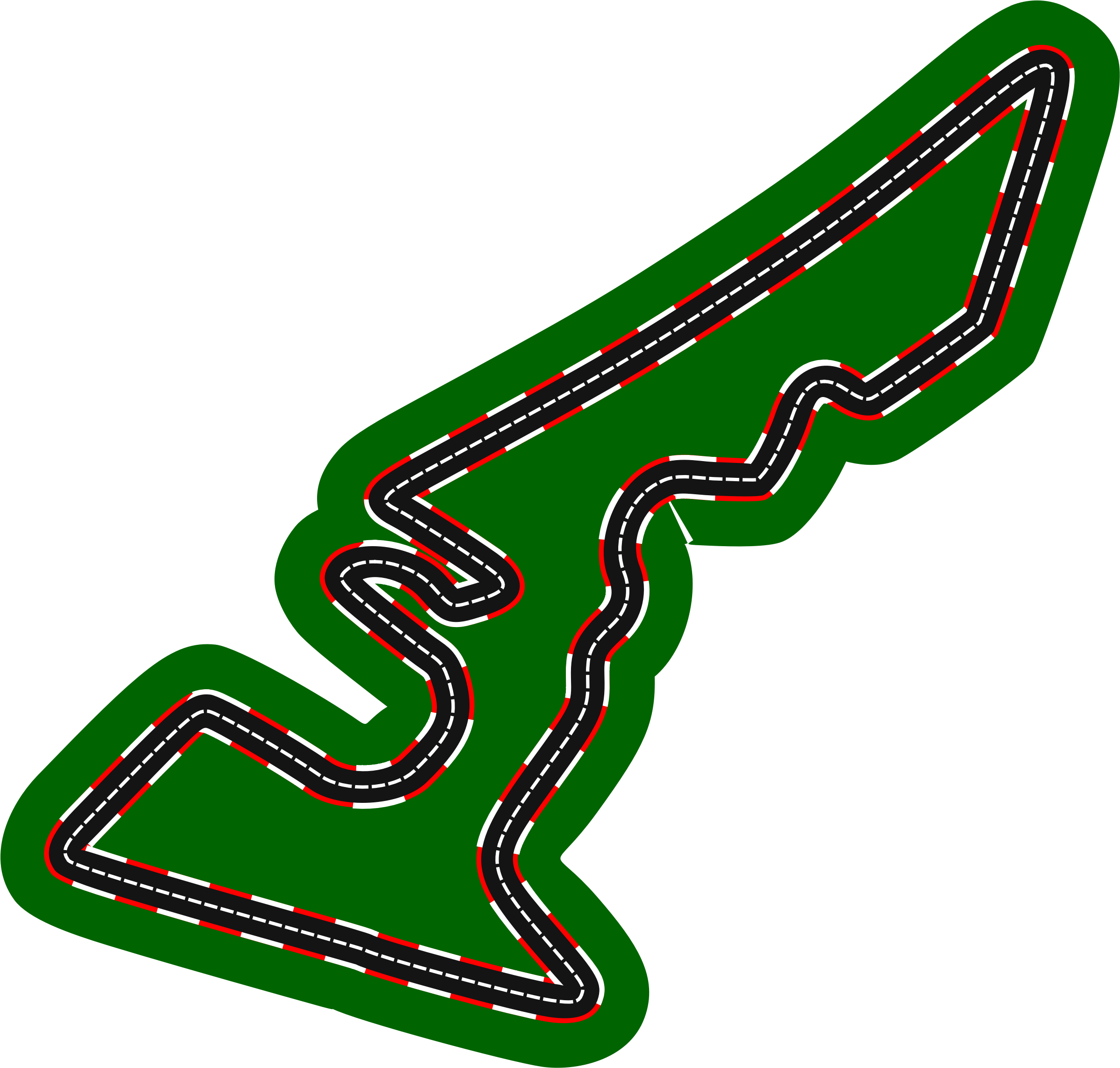 F1 circuits 2014-2018 - Circuit of the Americas (version 2) by Firkin