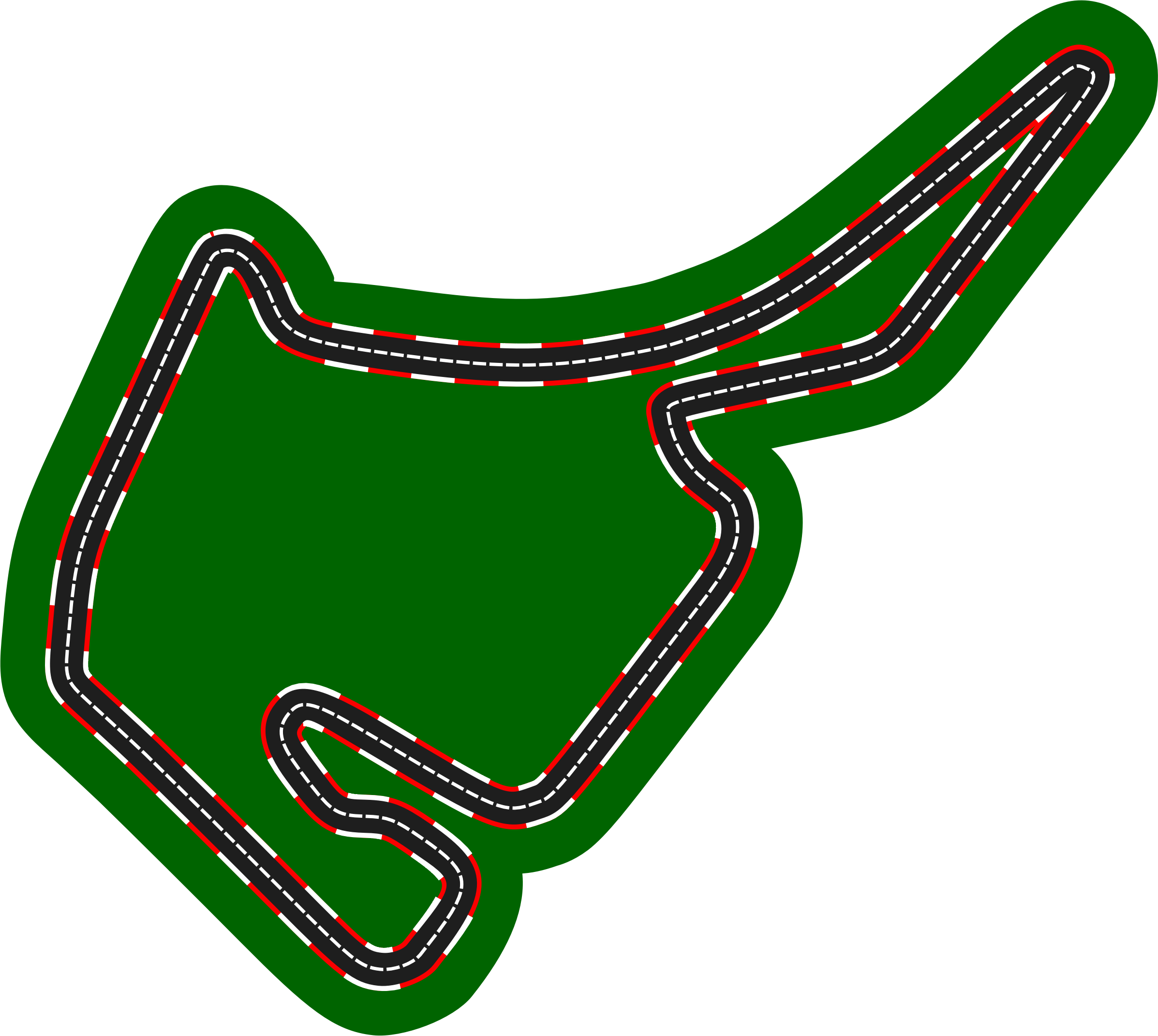F1 circuits 2014-2018 - Hockenheimring (version 2) by Firkin