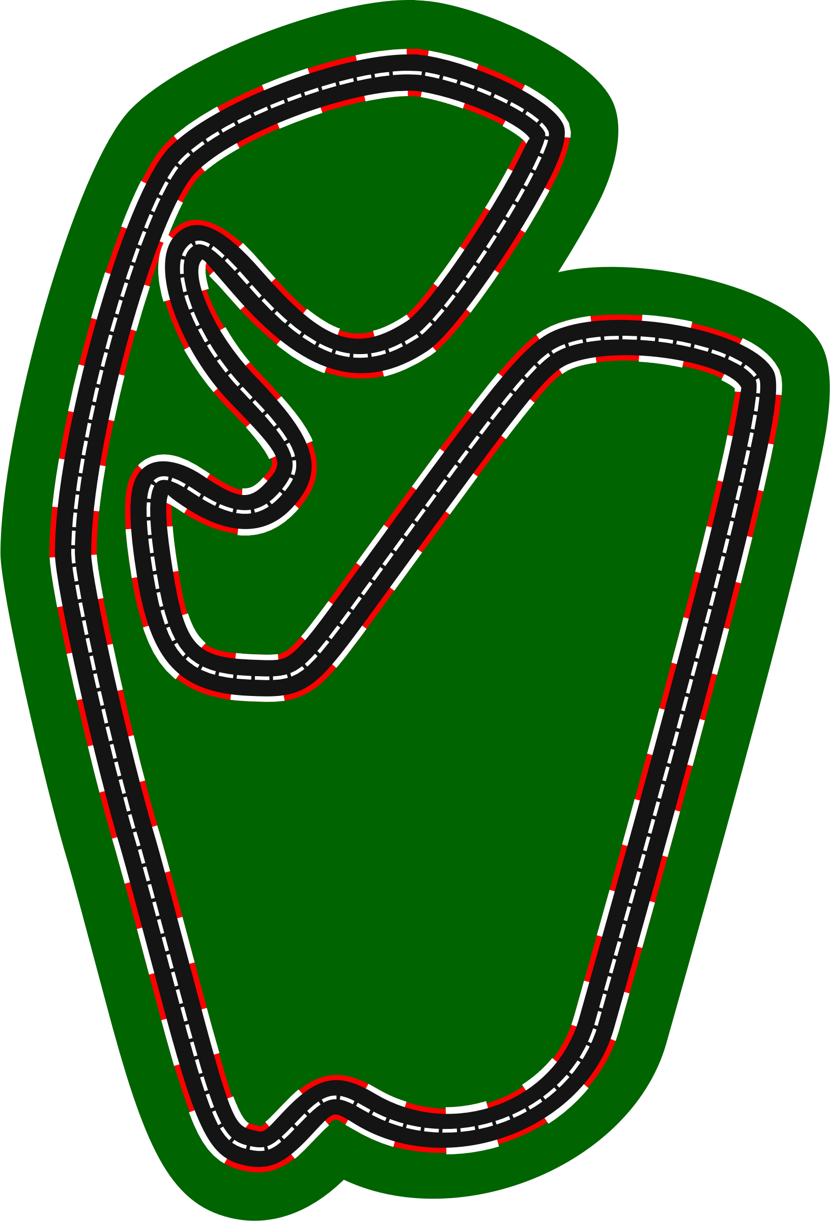 F1 circuits 2014-2018 - Autódromo José Carlos Pace (version 2) by Firkin