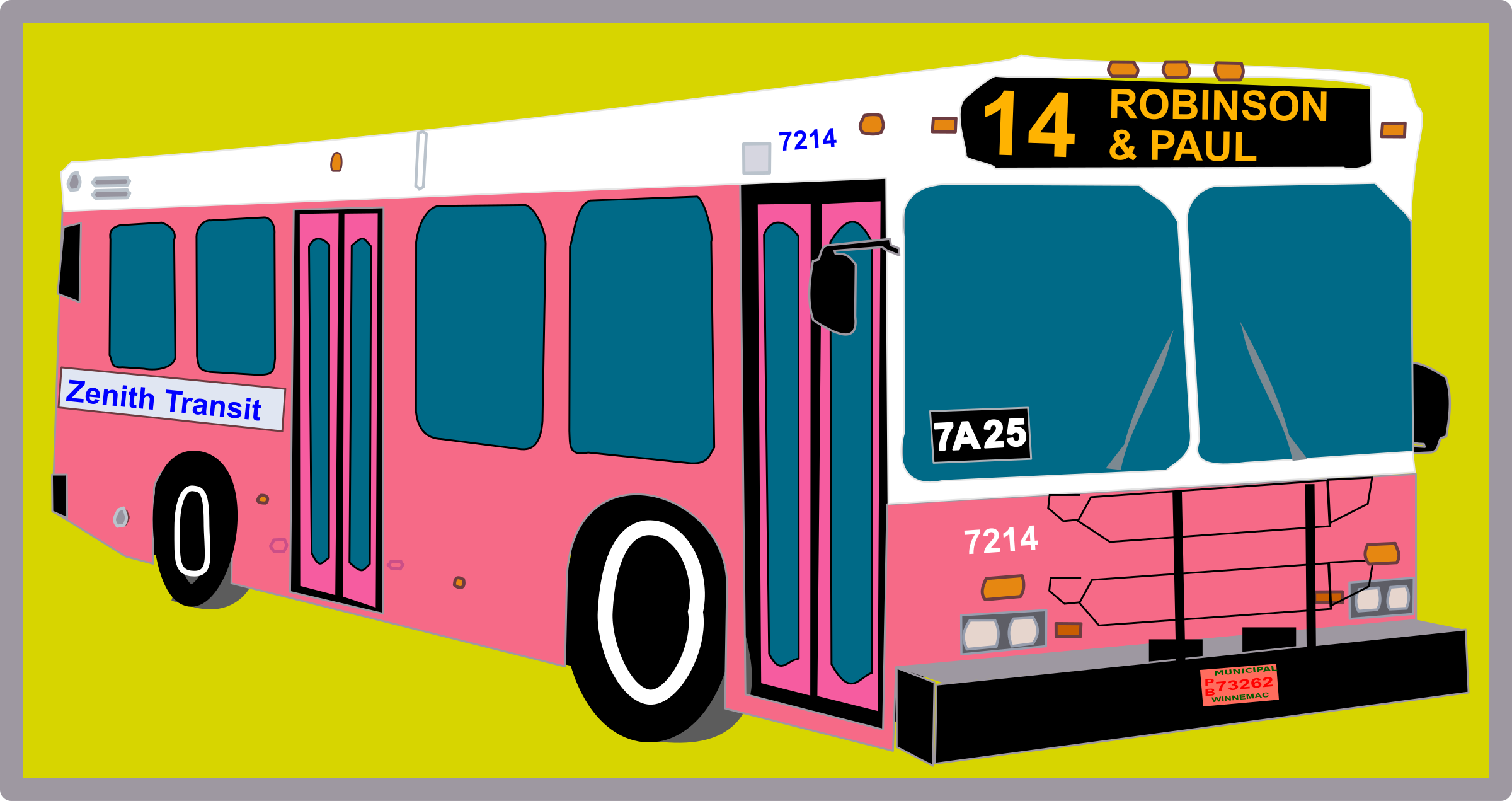 City Bus by Rfc1394