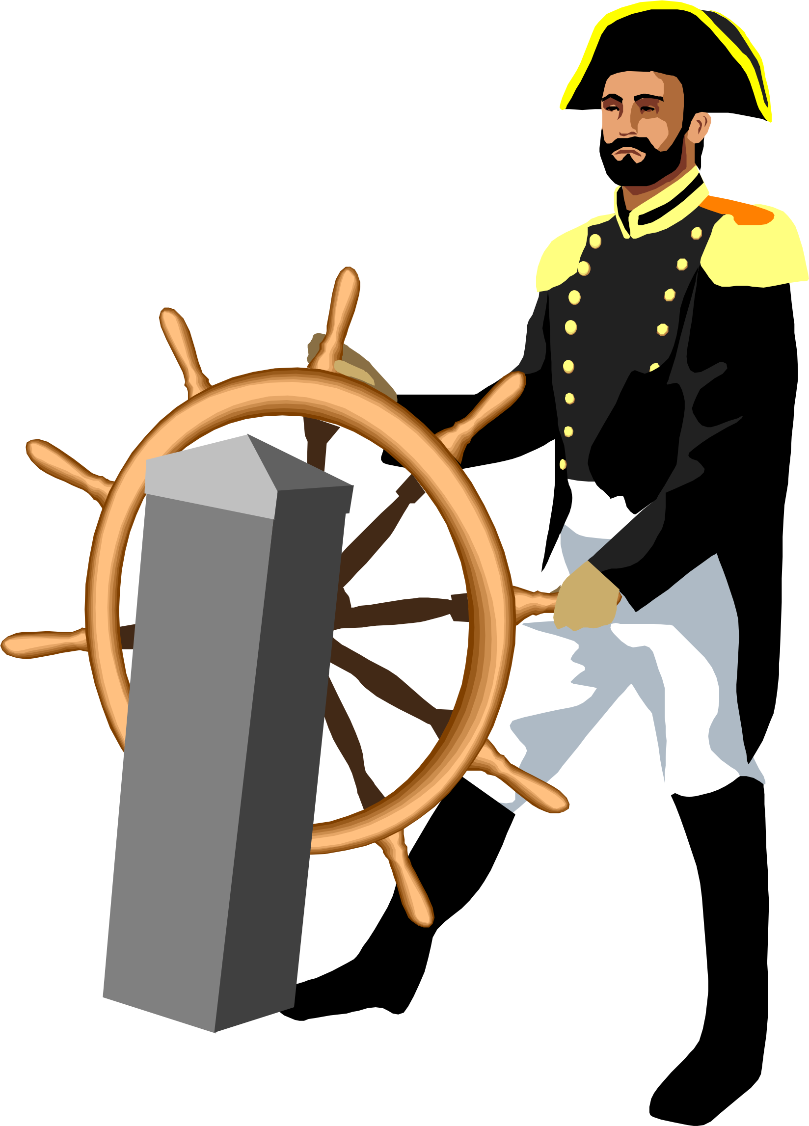 vice admiral Horatio Nelson by cactus cowboy