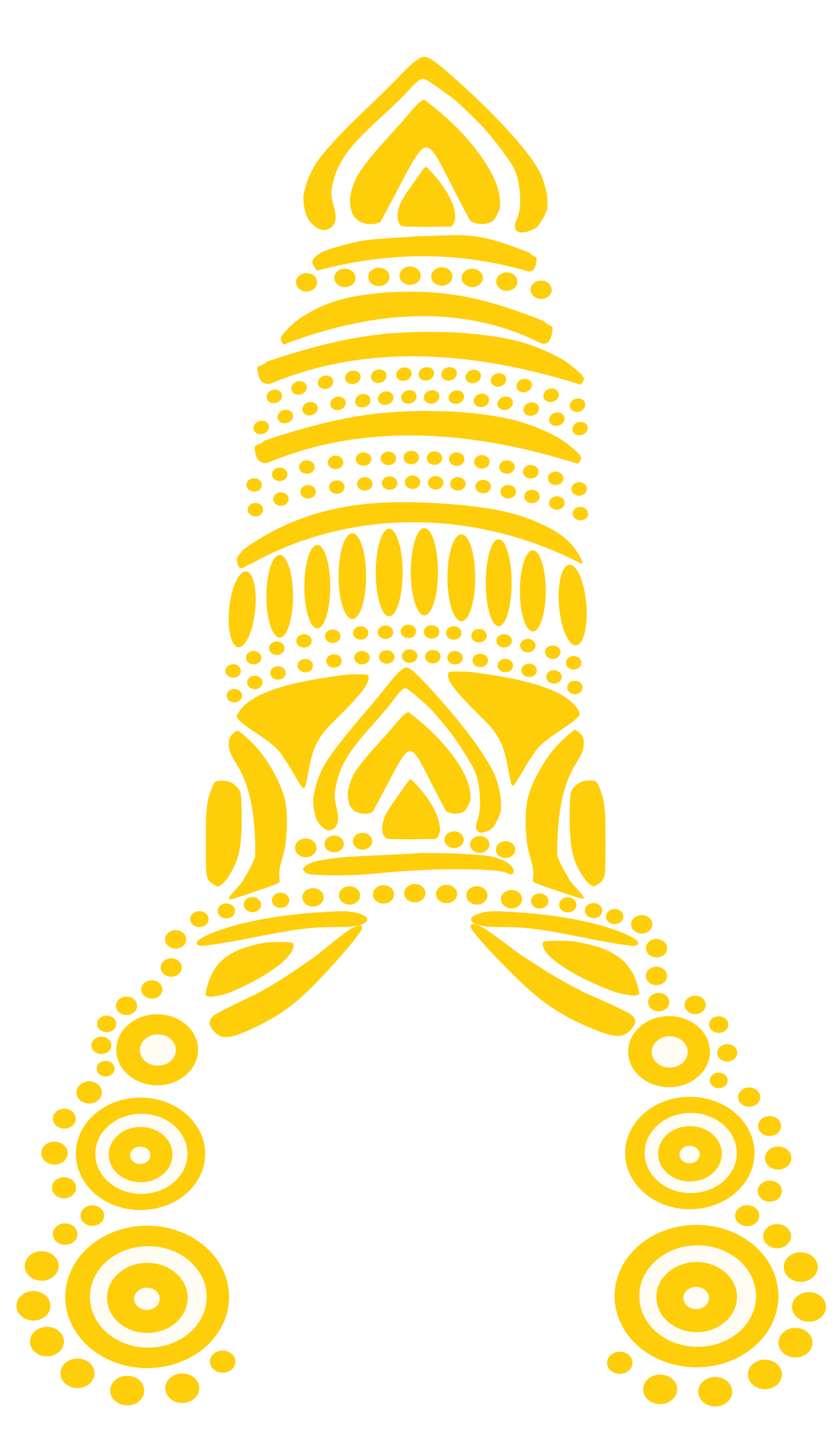 Vishnu Crown by Bharateey