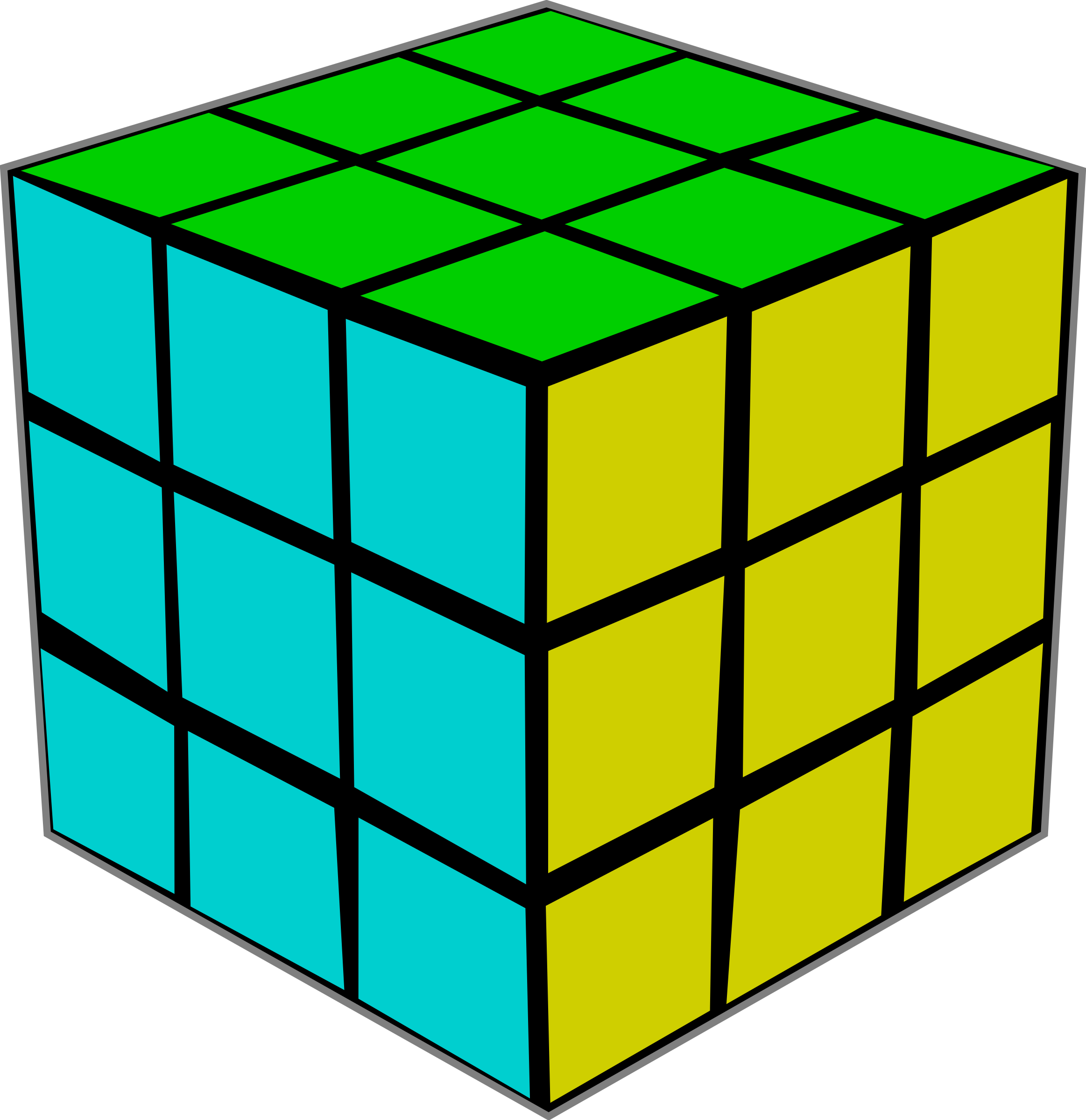 Rubik's Cube by Rfc1394