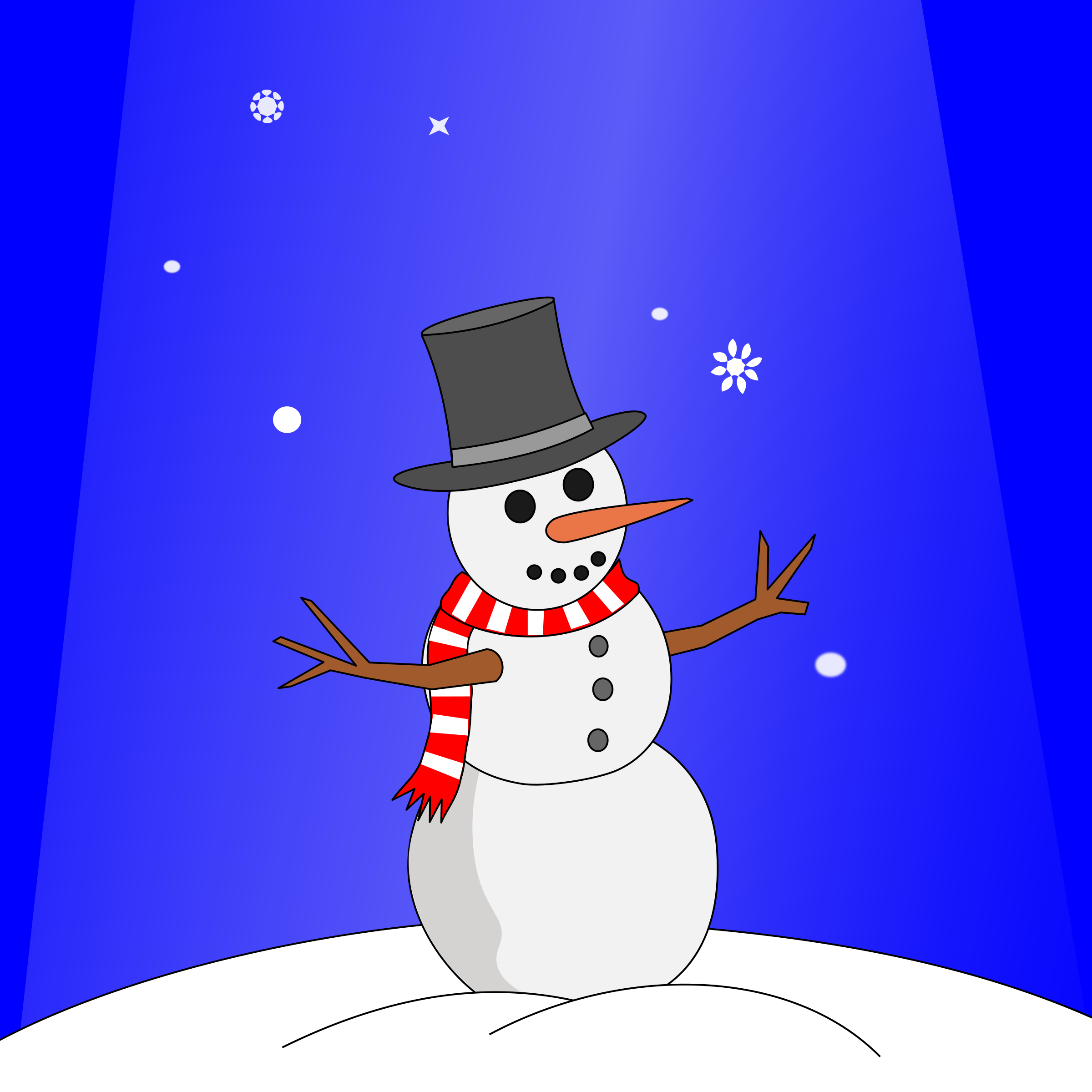 Animation: Snowman by aukipa