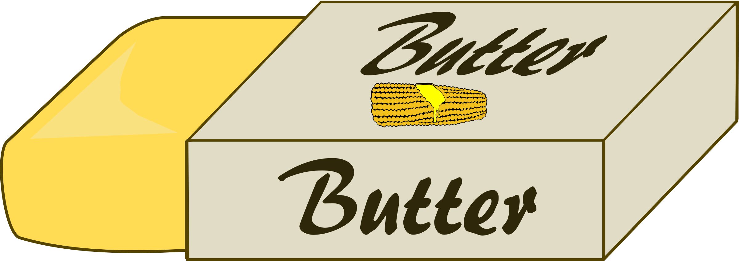 Pack of Butter by j4p4n