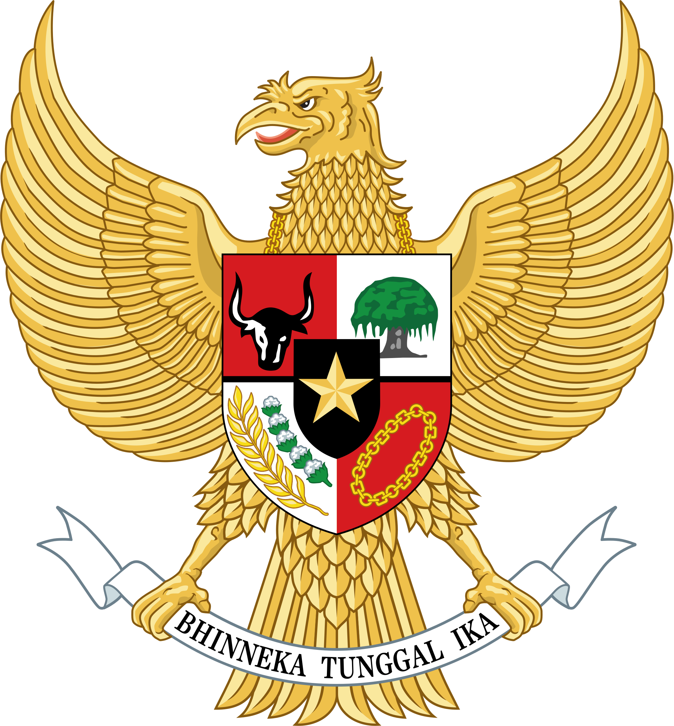 emblem-of-indonesia by Manuela.