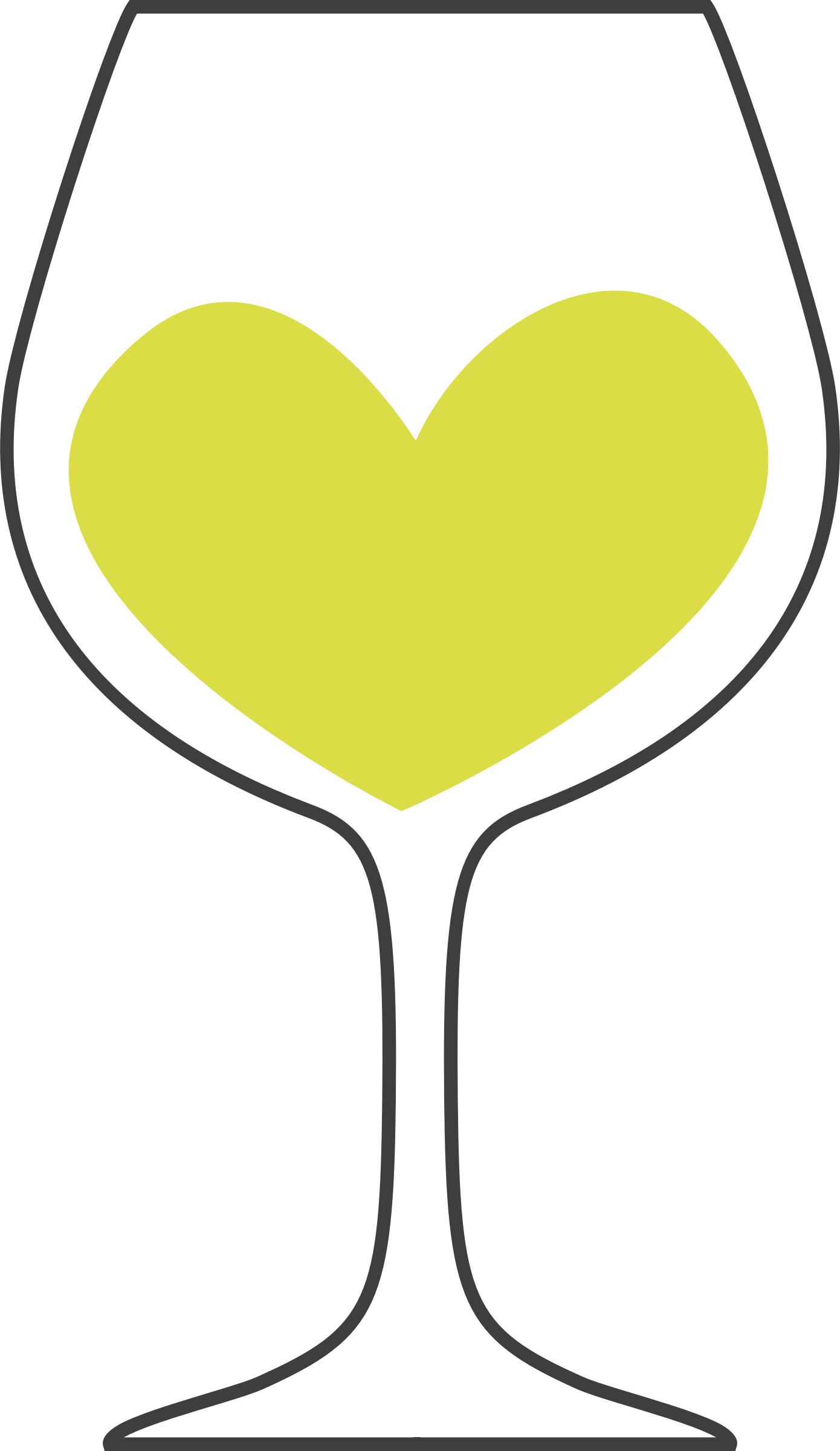 Love of white wine by Firkin