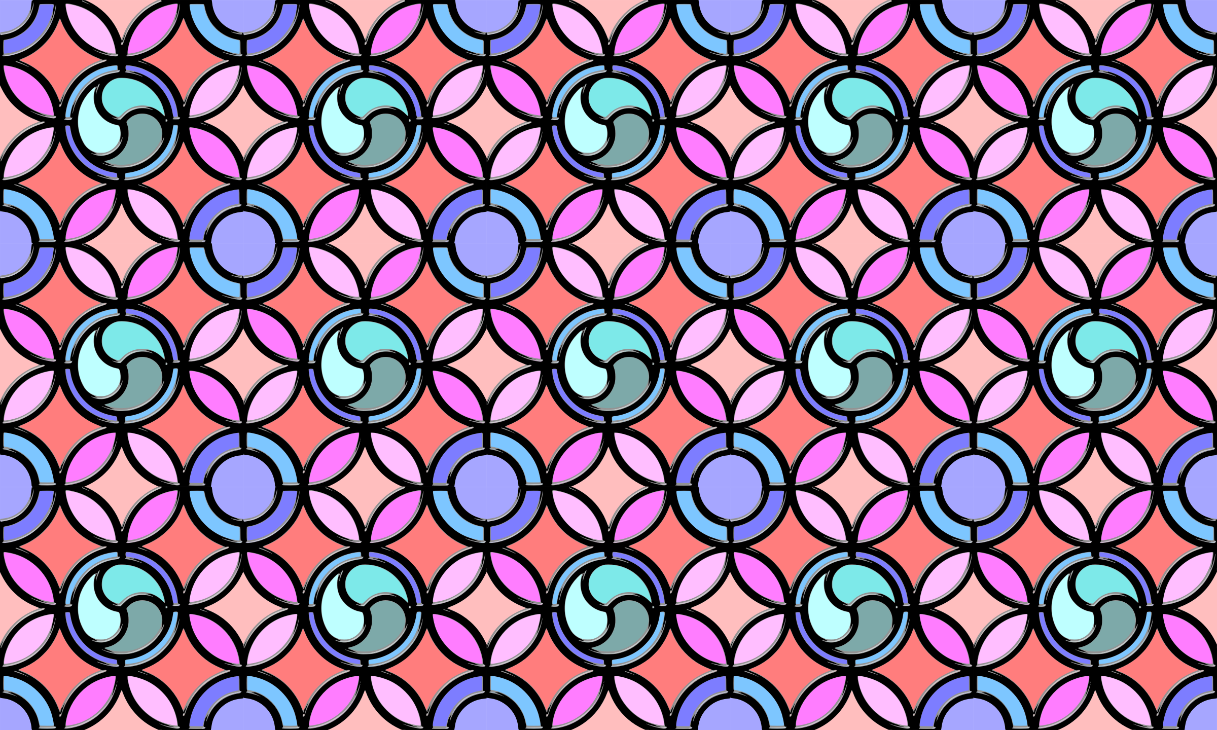Leaded glass background (colour 2) by Firkin