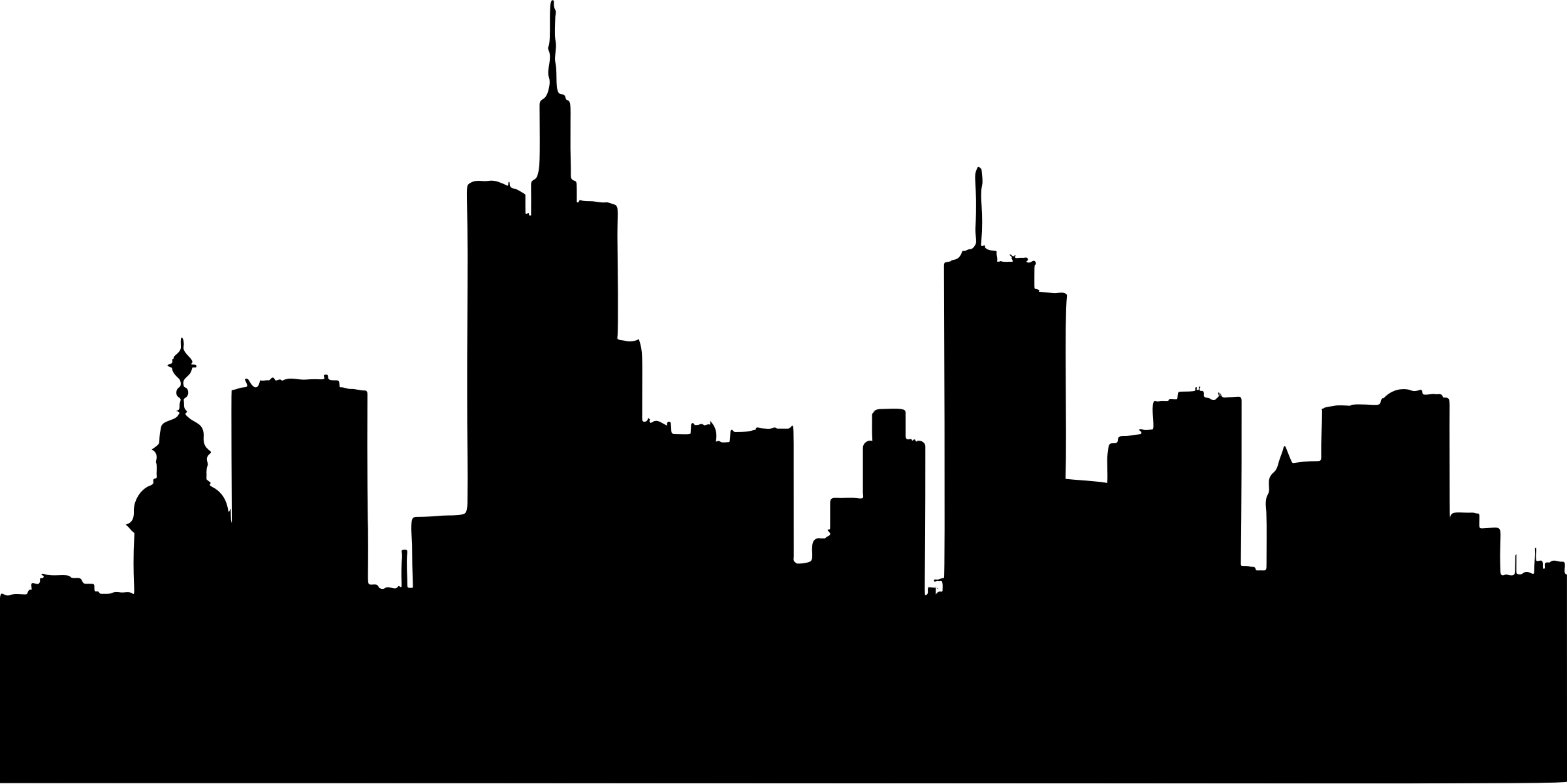 Clipart frankfurt skyline silhouette for Graphic design frankfurt