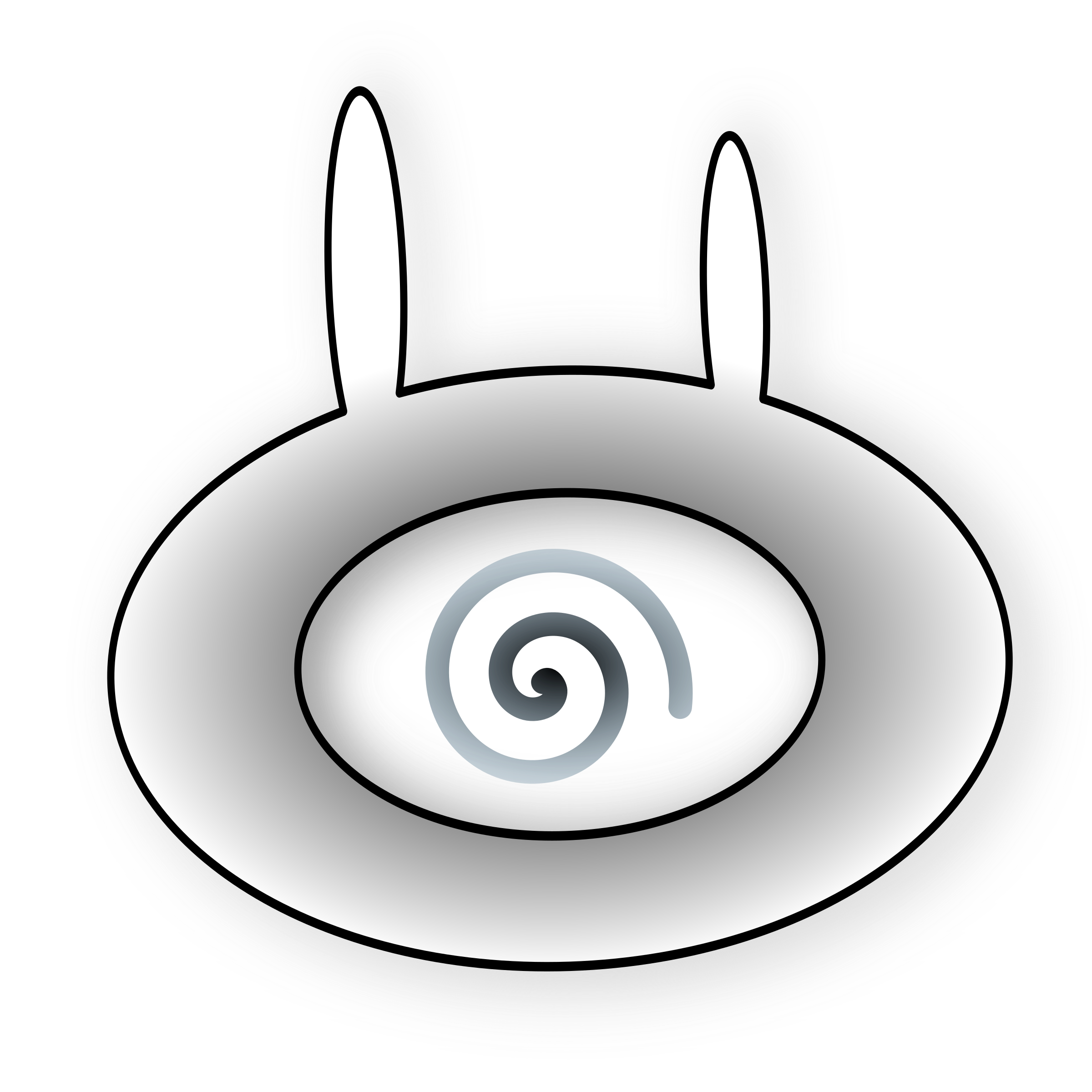 Evil bunny eye by smelly_boots