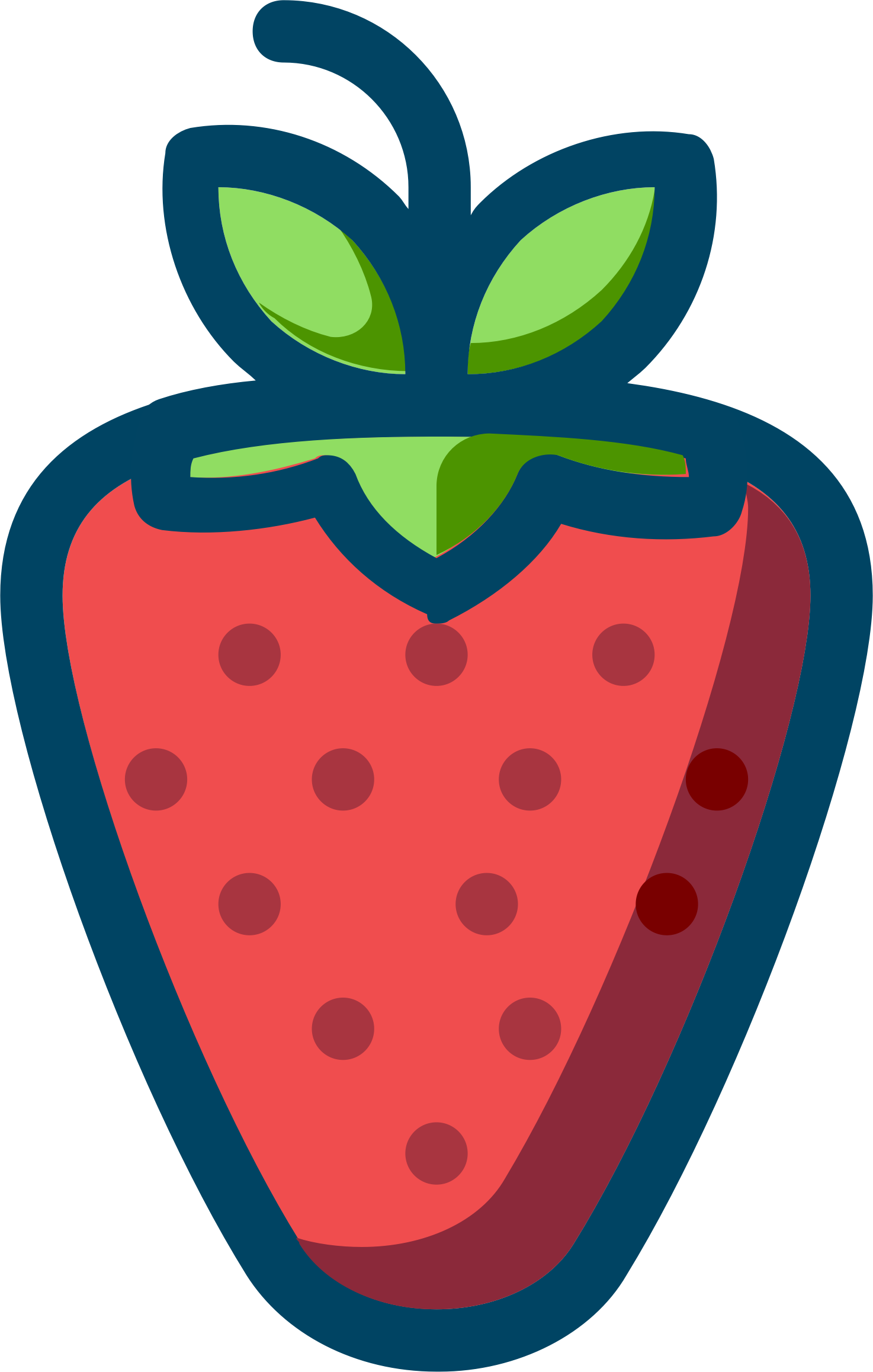 strawberry by cactus cowboy
