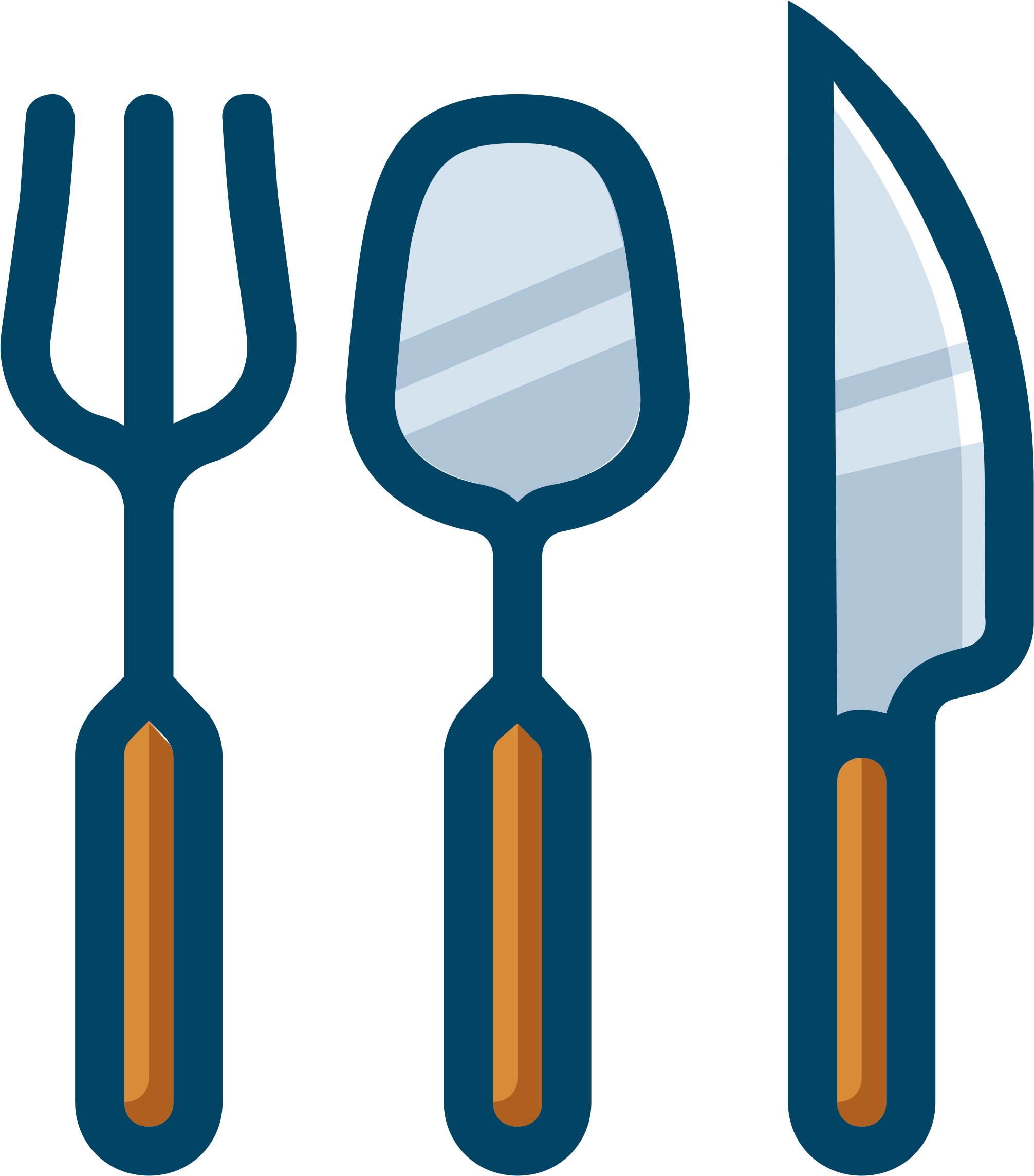 utensils by cactus cowboy