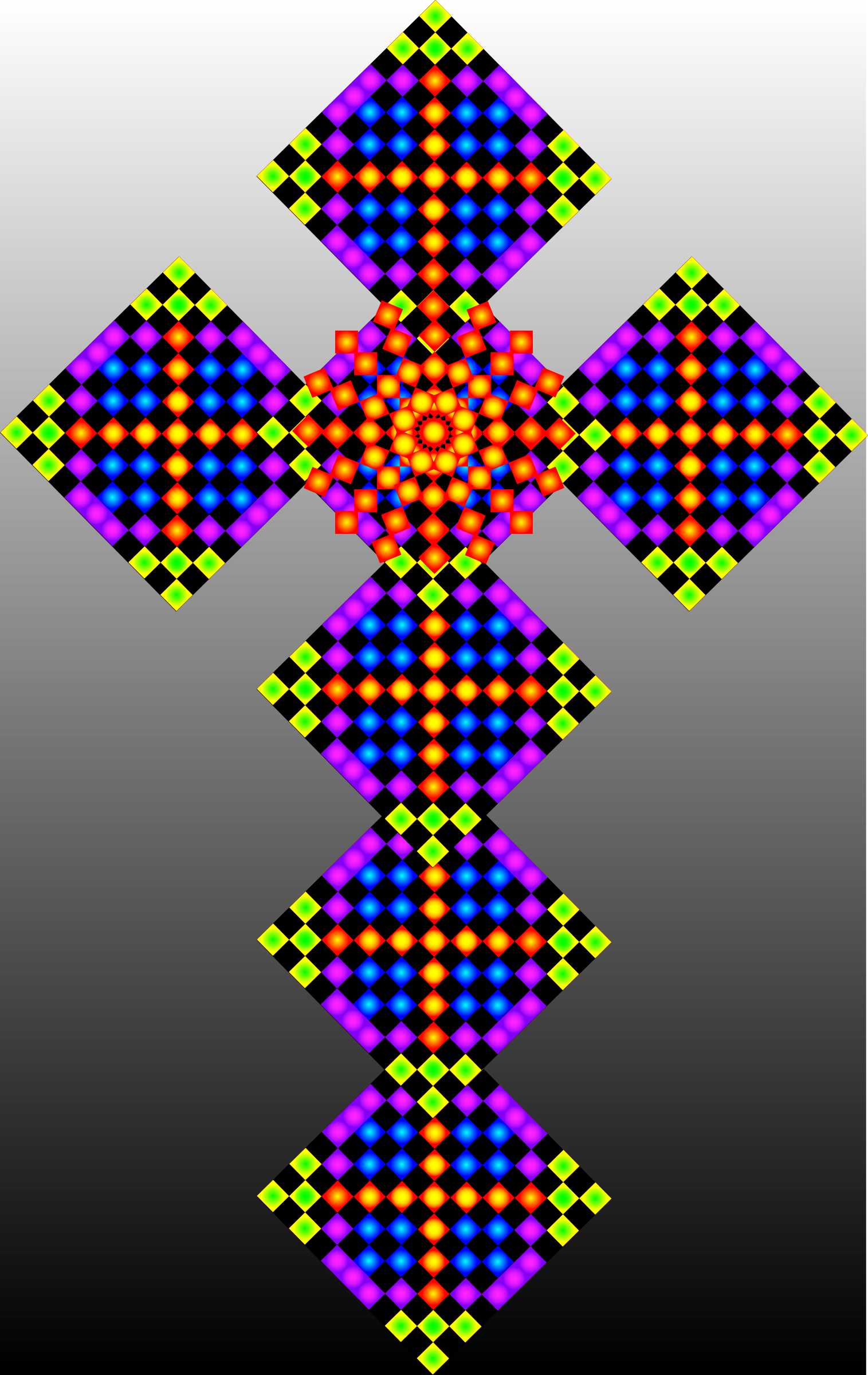Tile Cross 4  by imdeggman