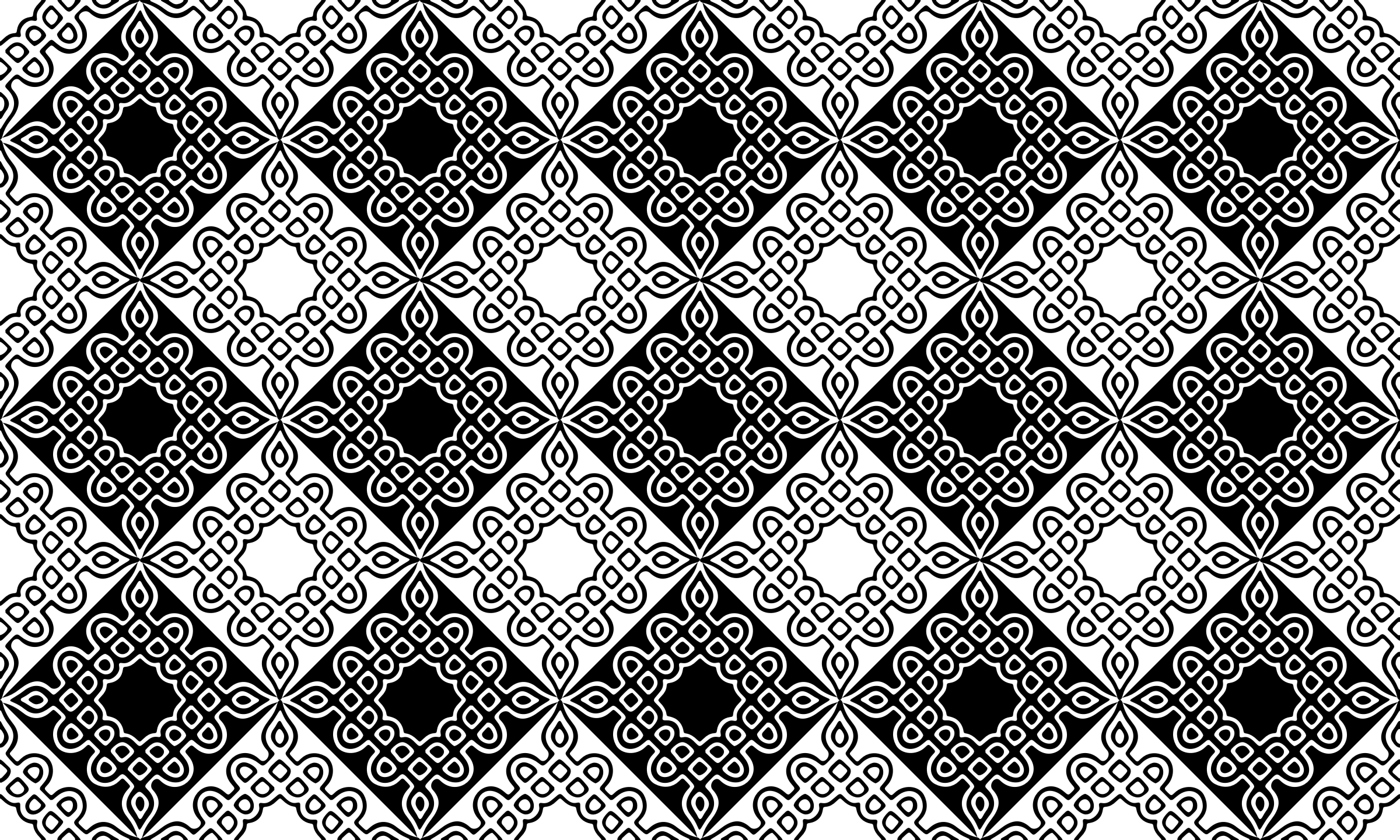 Background pattern 277 (black and white) by Firkin