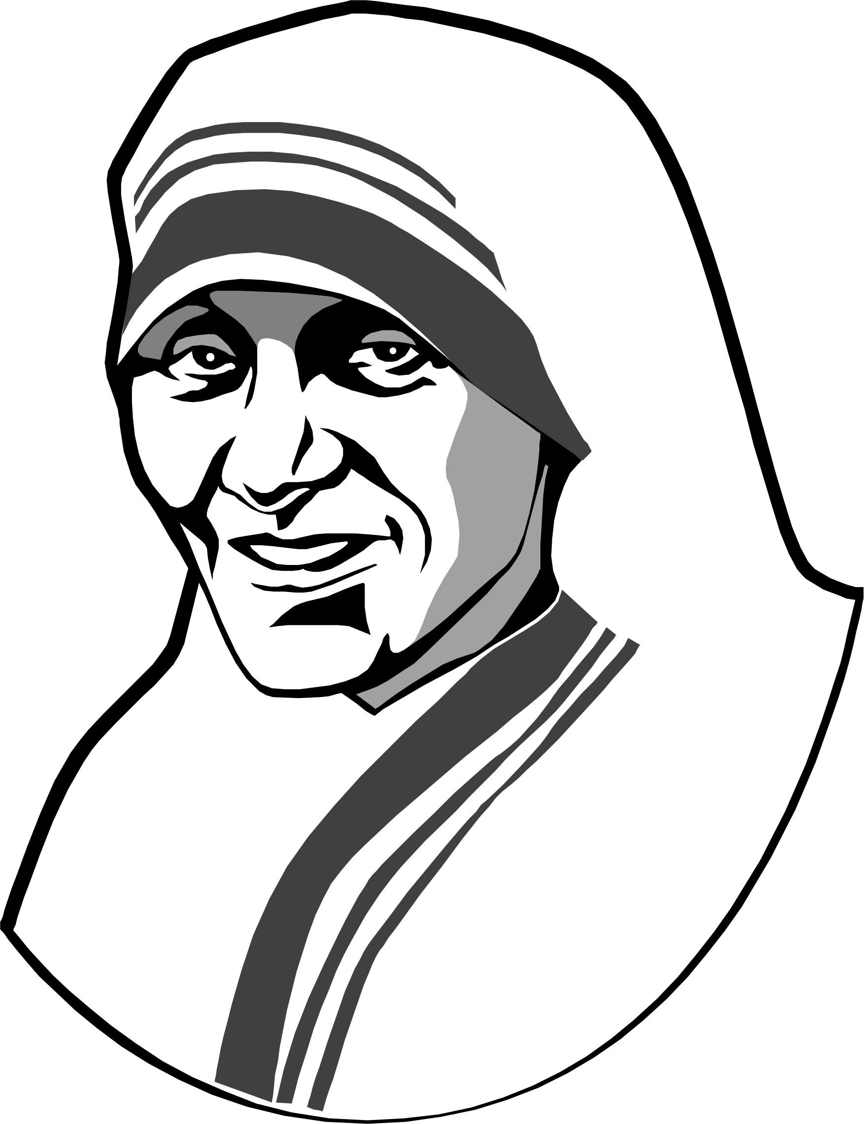 mother teresa by cactus cowboy
