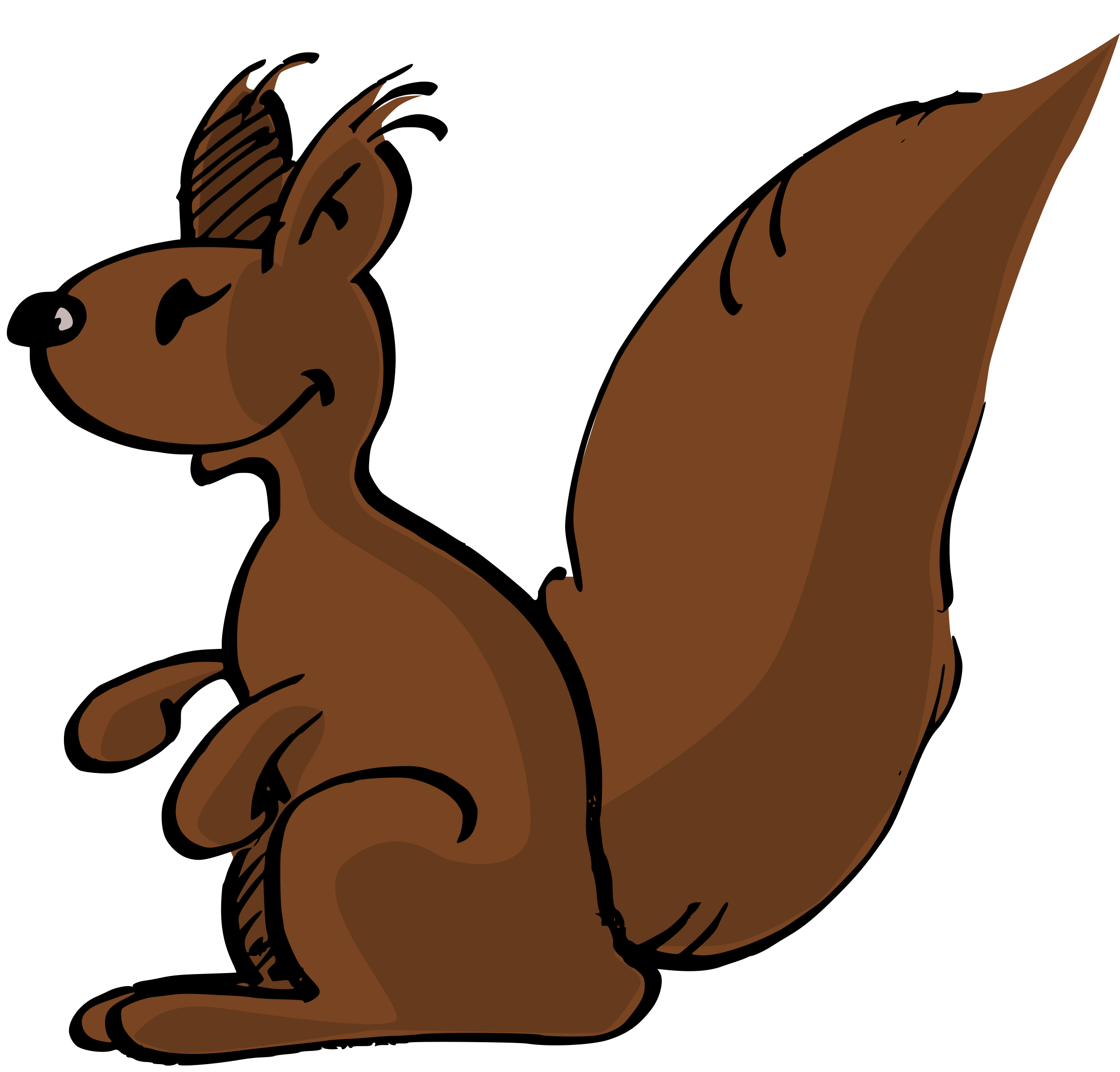 Squirrel by Odysseus