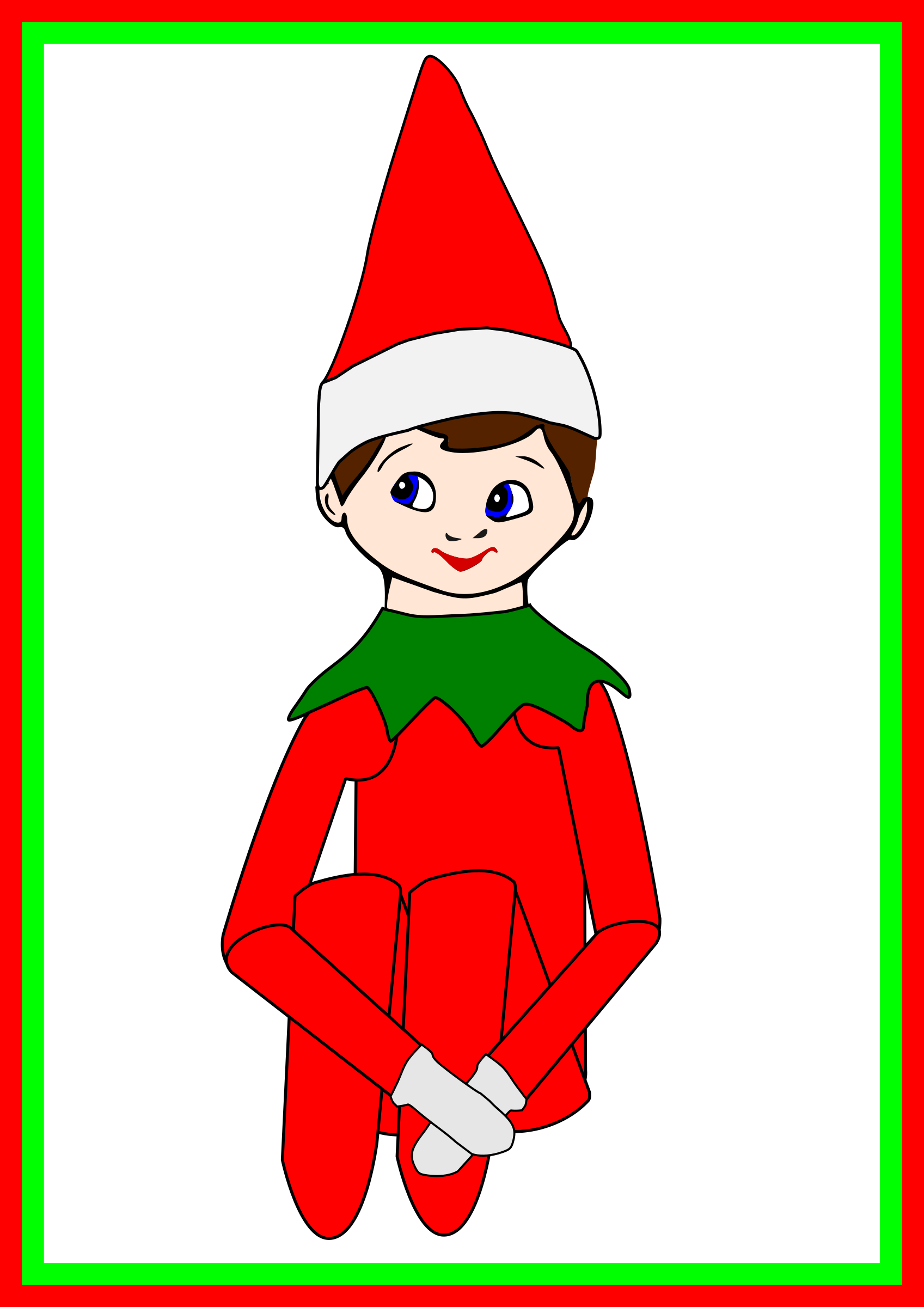 AlanSpeak Elf on the Shelf 03 by alanspeak