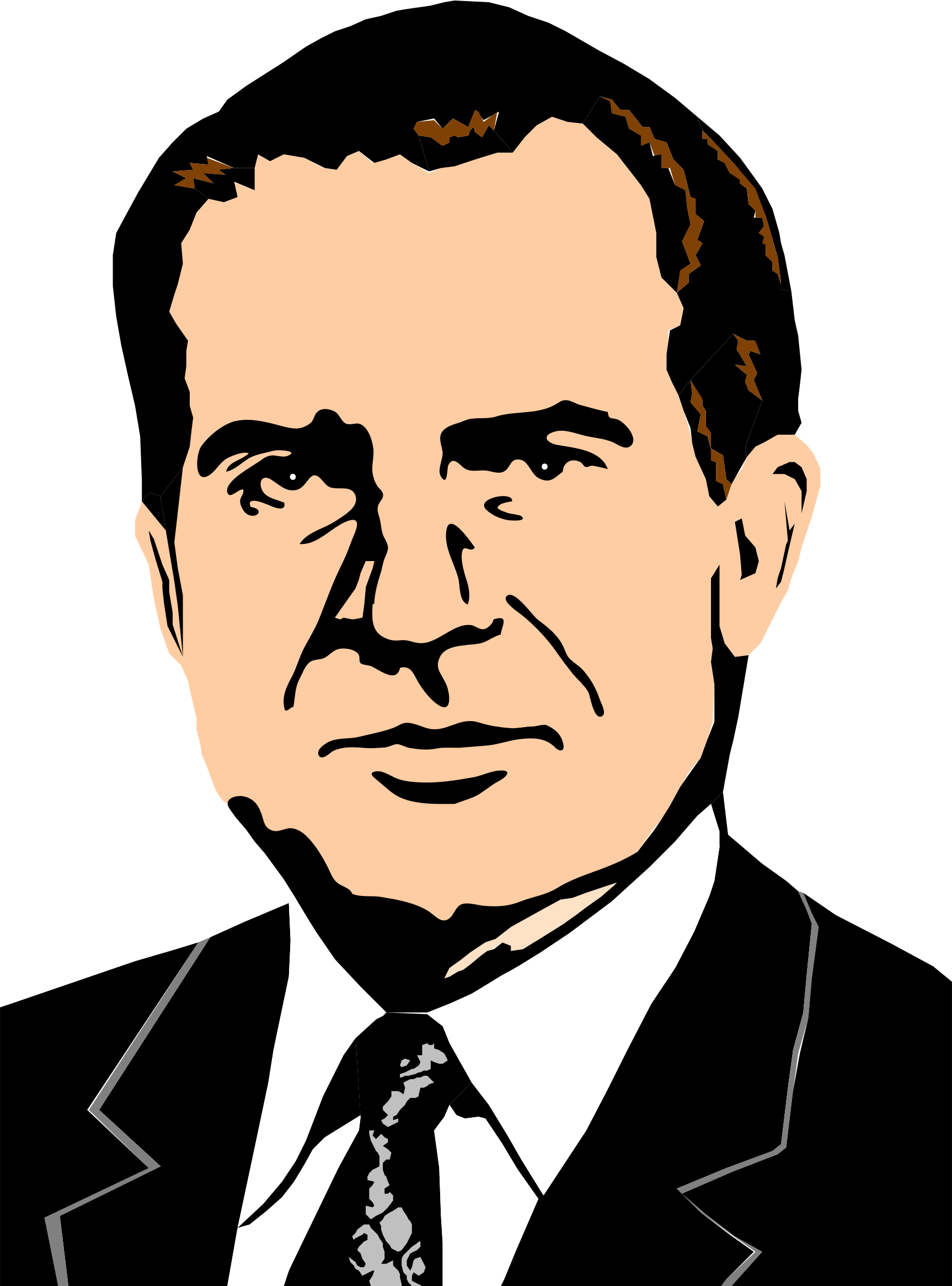 richard m nixon by cactus cowboy