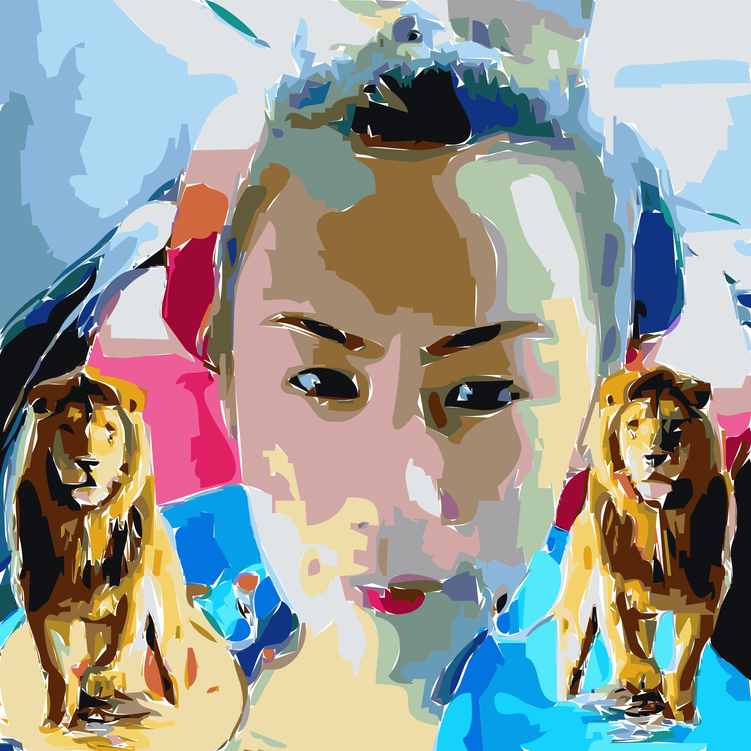 Lady with lions by sureepon_kawinyodying